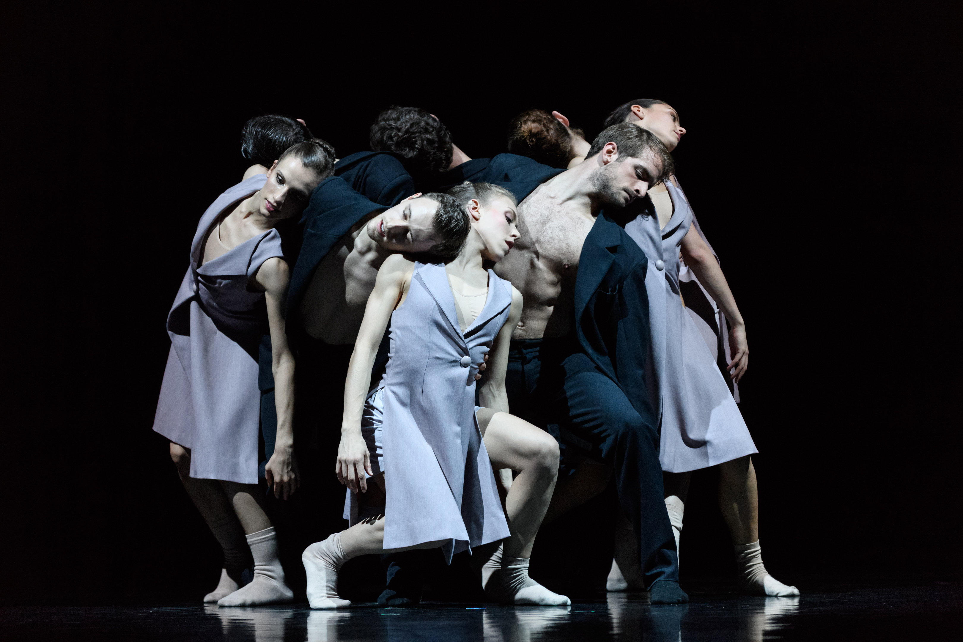 entertaining: Scottish Ballet presents the World Premiere of Sibilo, choreographed by  Sophie Laplane