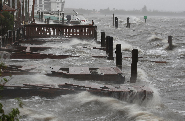 Hurricane Matthew is wreaking havoc in Florida