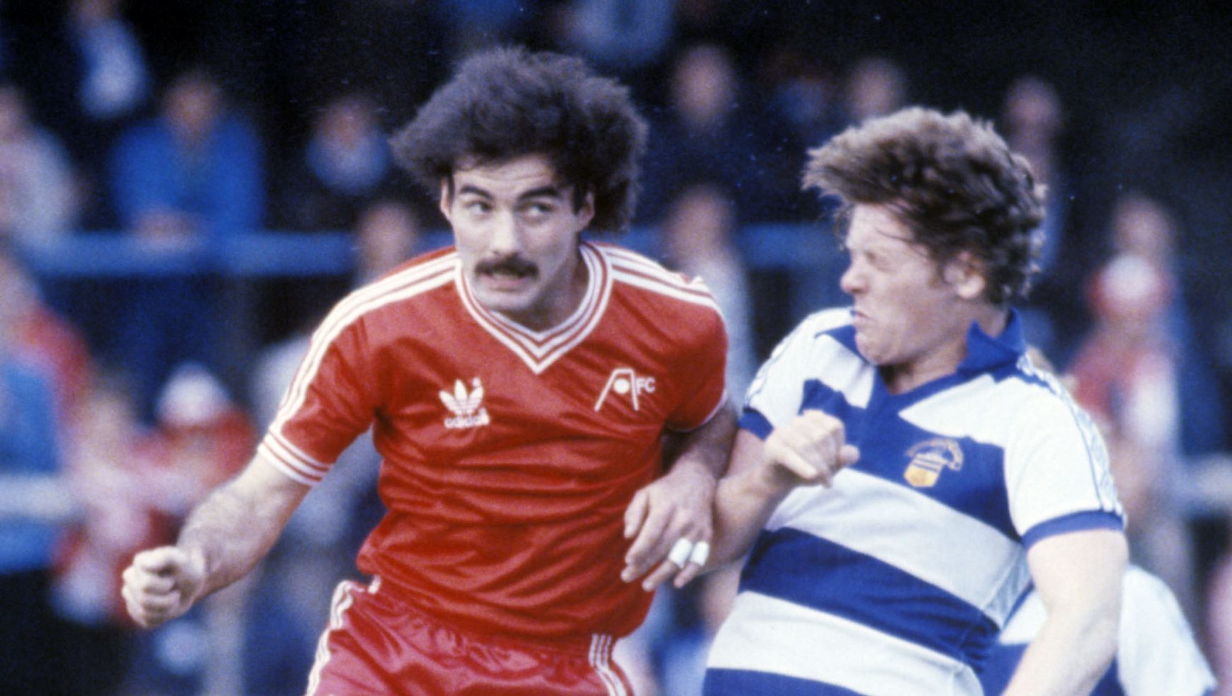 Willie Miller challenges Morton wizard Andy Ritchie.
