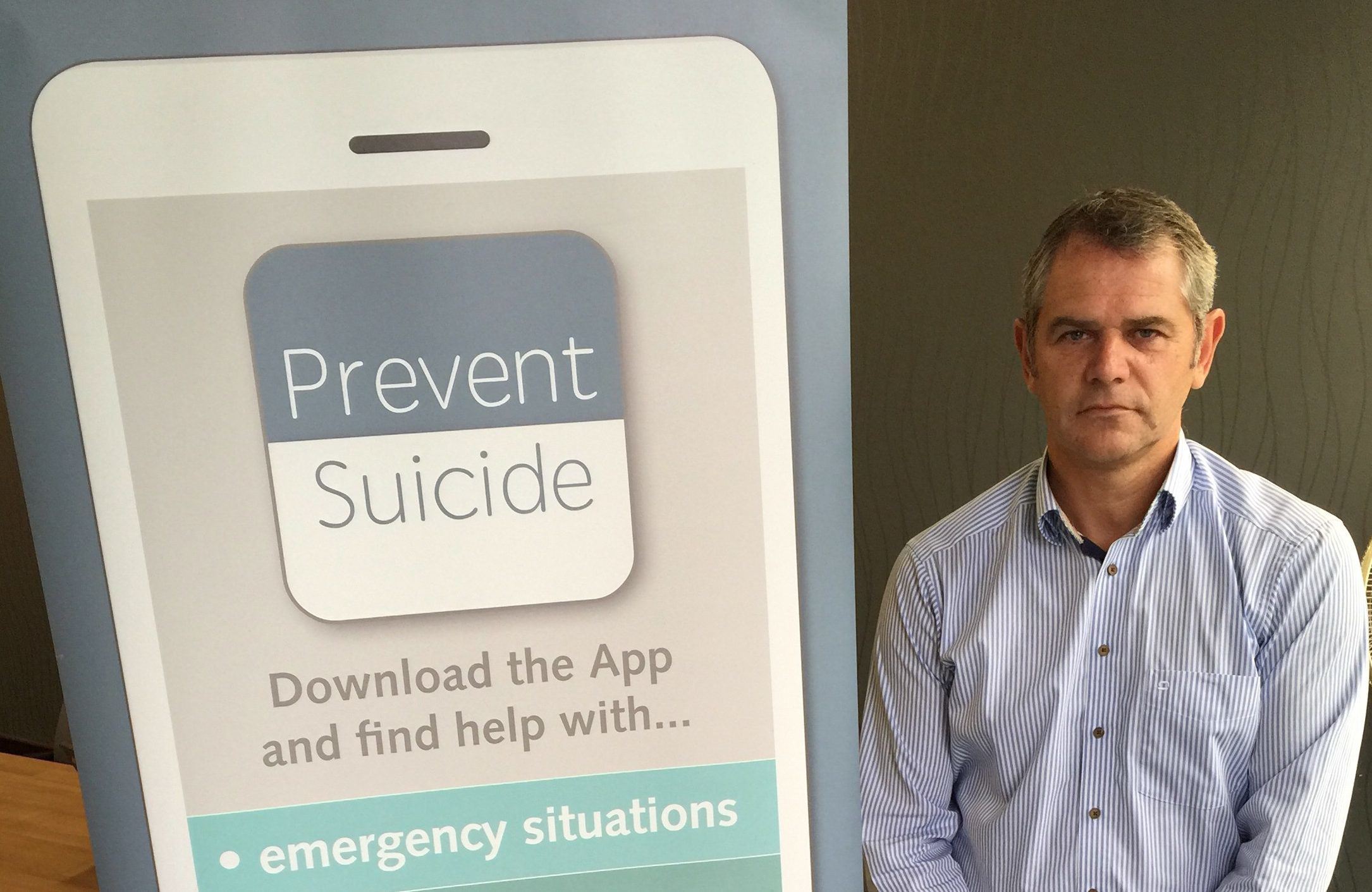suicide prevention:  Choose Life's Iain Murray.