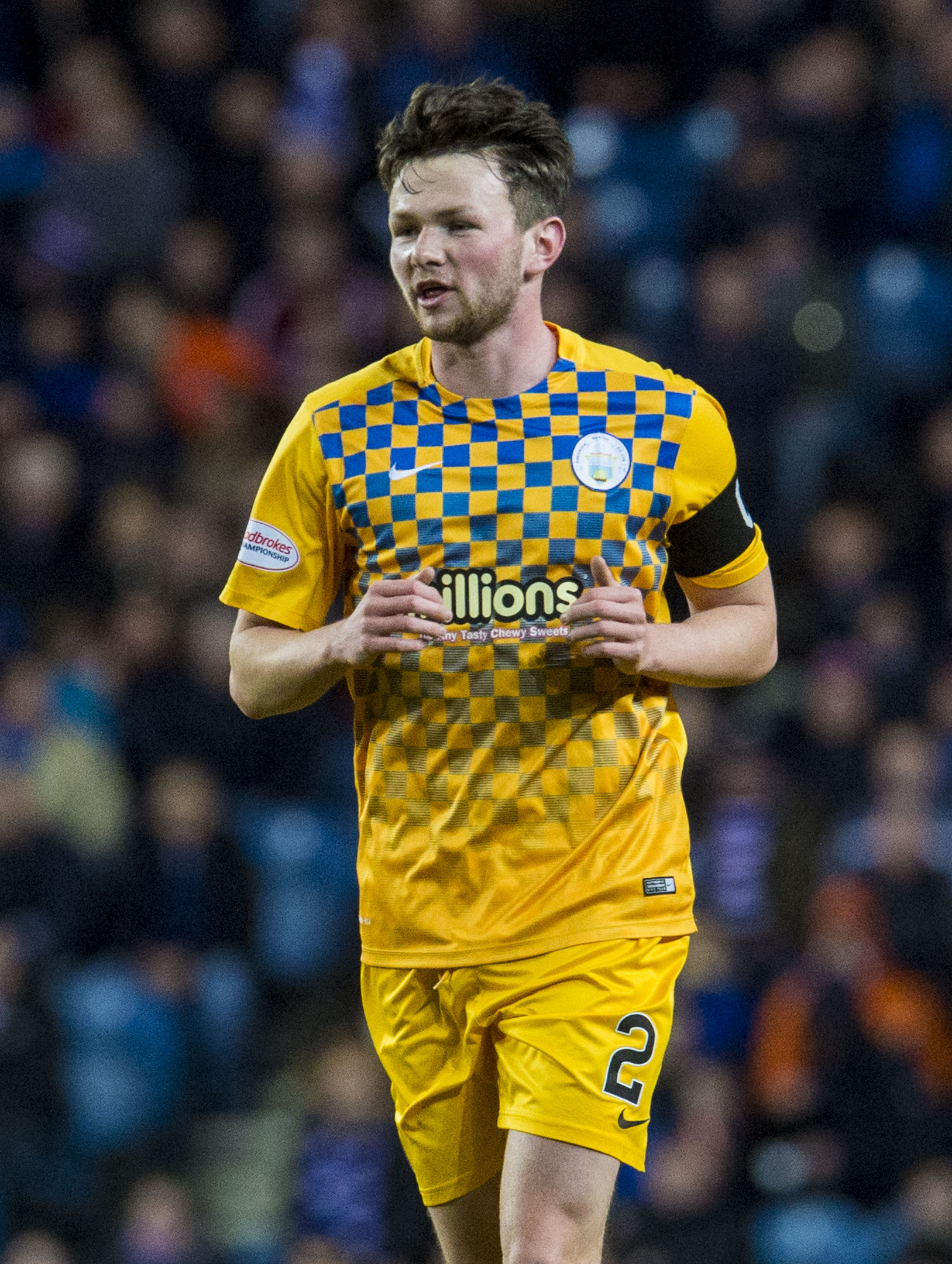 Morton's Lee Kilday Is looking forward to the League Cup  showdown with Aberdeen.