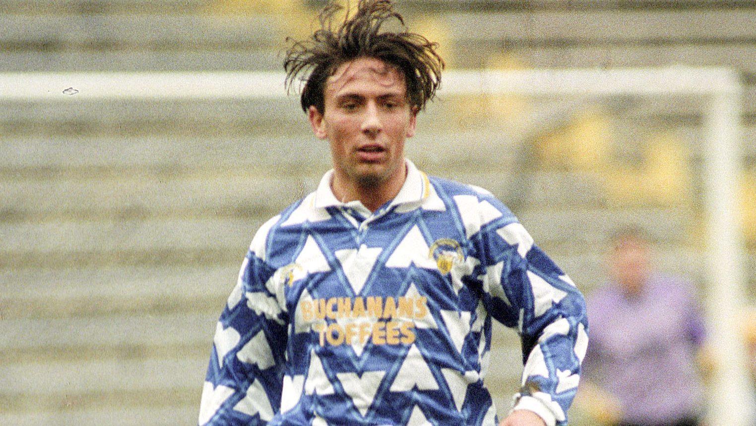 Derek McInnes at Morton in 1993.