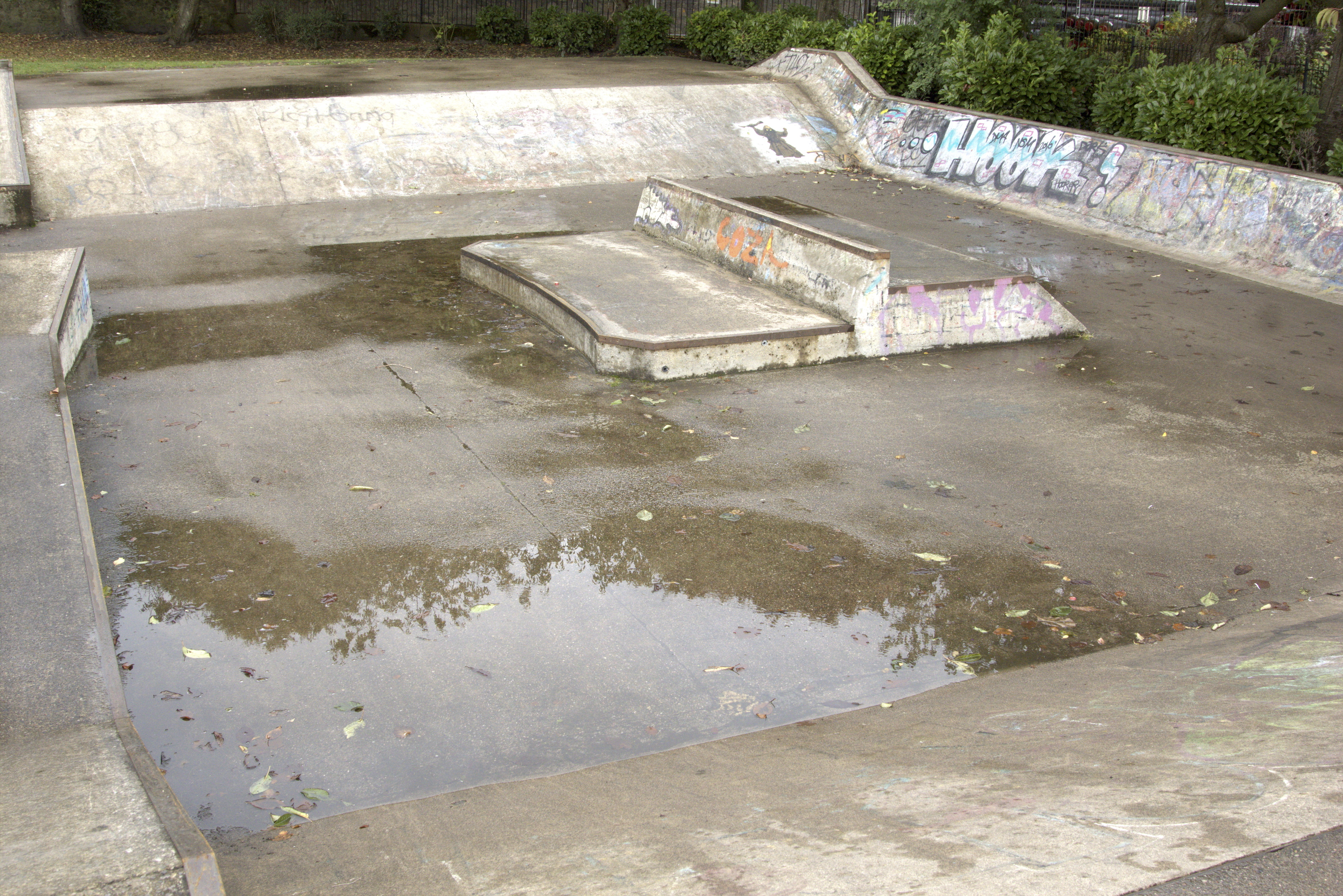 Westburn Park skate park which could have a £70,000 facelift.
