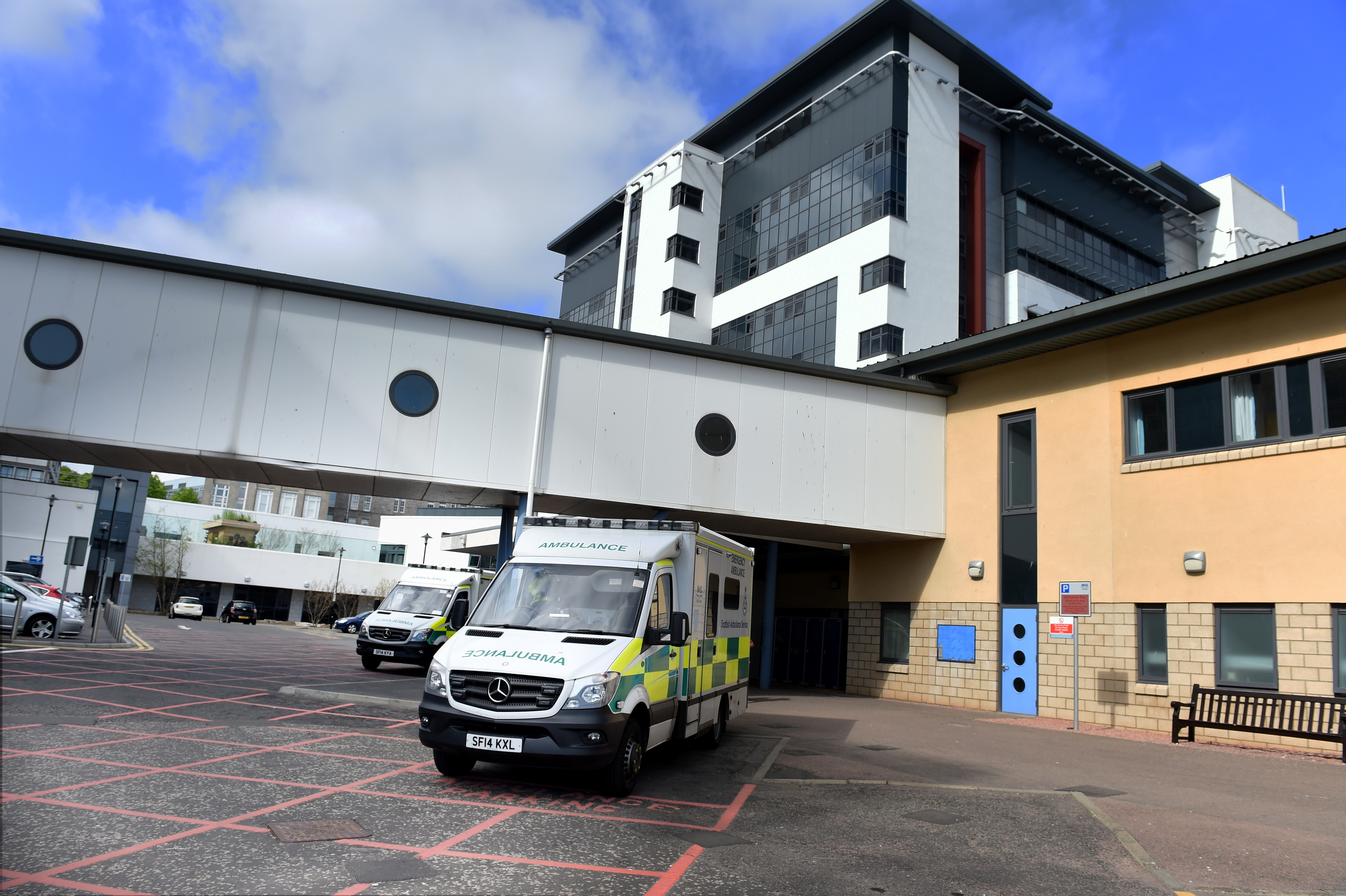 Aberdeen Royal Infirmary is expected to see rising patient numbers.