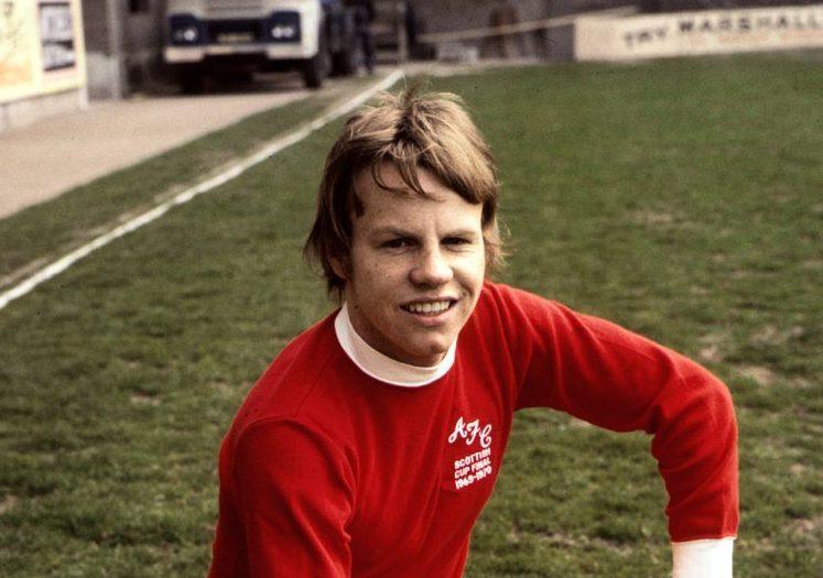 Aberdeen winger Arthur Graham.