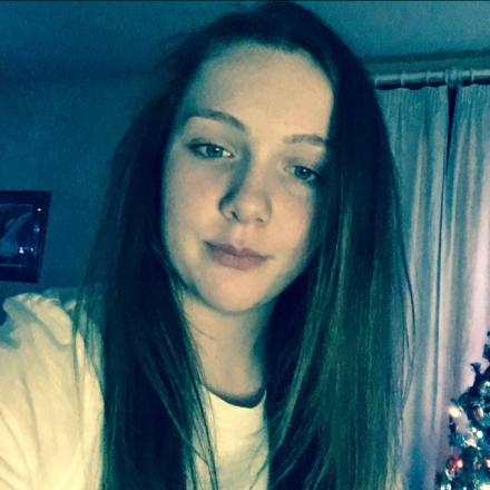 teen: Zoe Walton was seen getting on train.