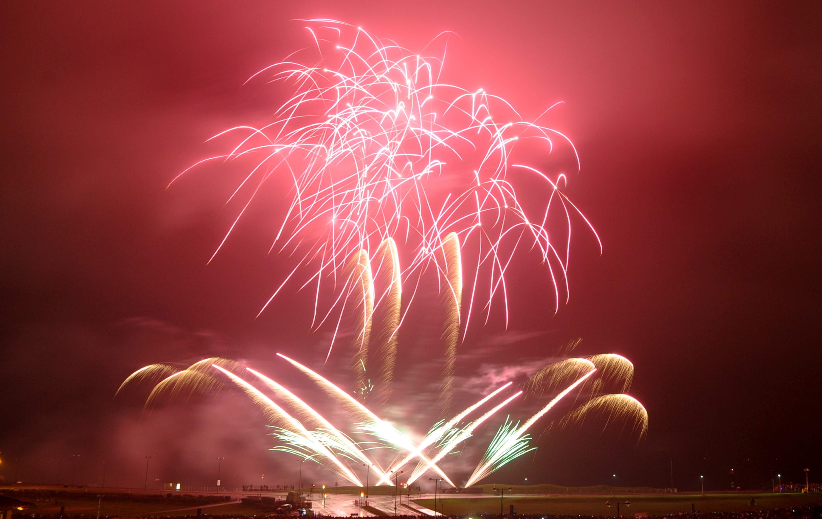 Aberdeen's fireworks display at the beach has been cancelled.