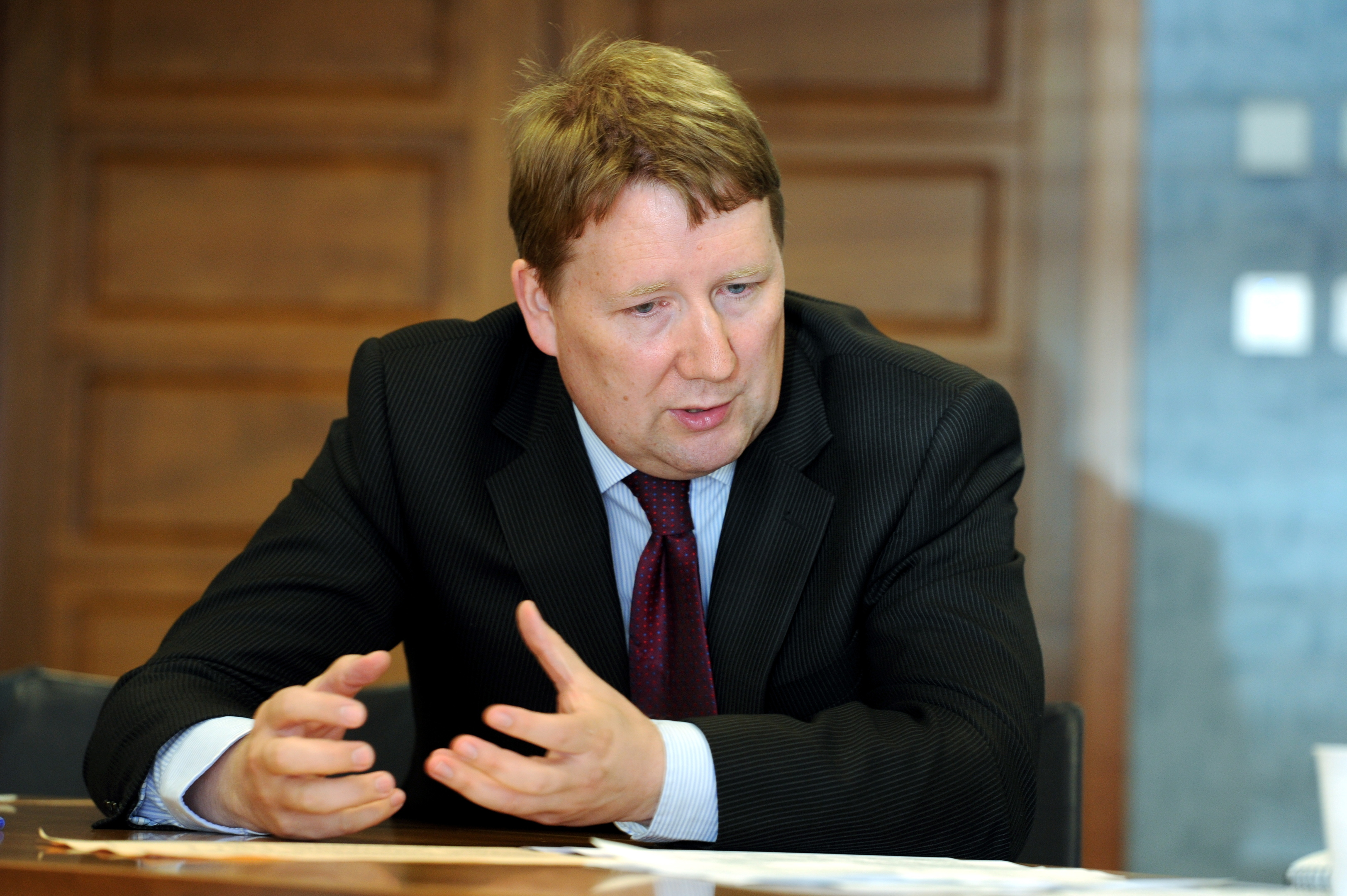 Ritchie Johnson said the council has a zero tolerance approach to abuse of staff.