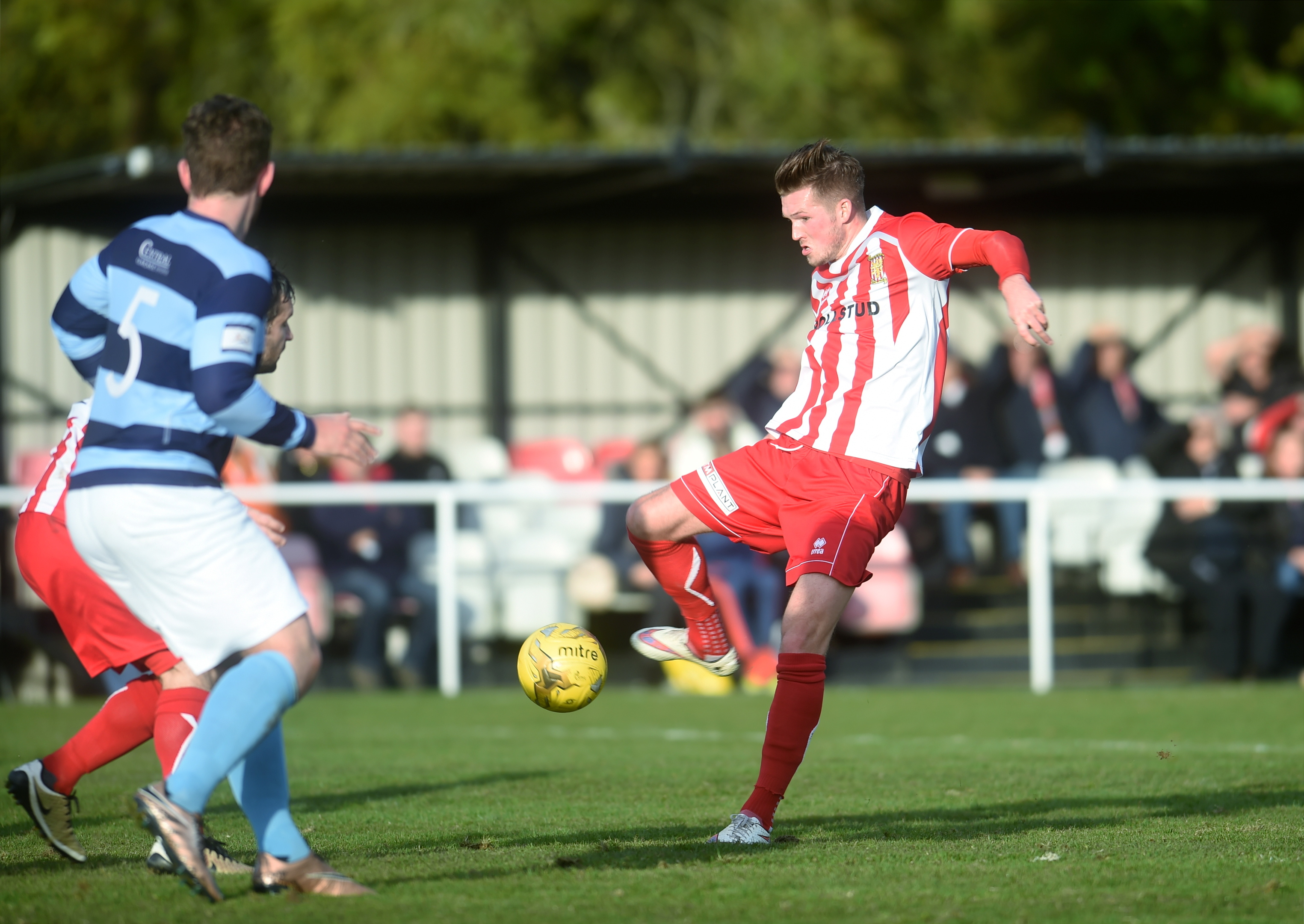PENALTY:   Formartine's Jamie Masson scored their second goal.  picture by darrell benns