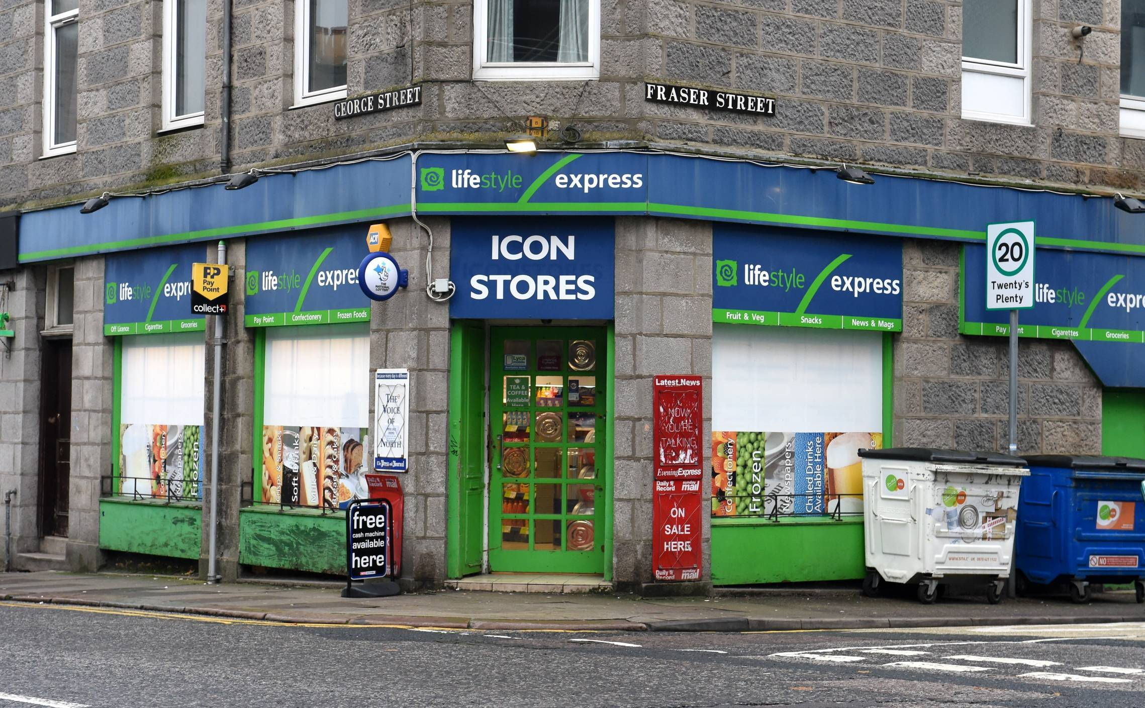 Icon Stores on George Street.