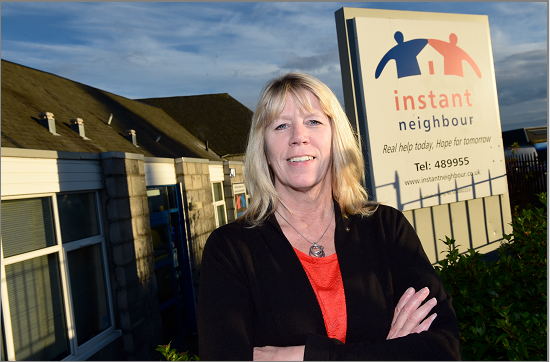 Instant Neighbour Chief Executive Sophy Green