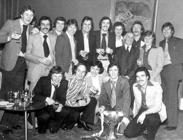 Aberdeen's 1976 League Cup-winning team.