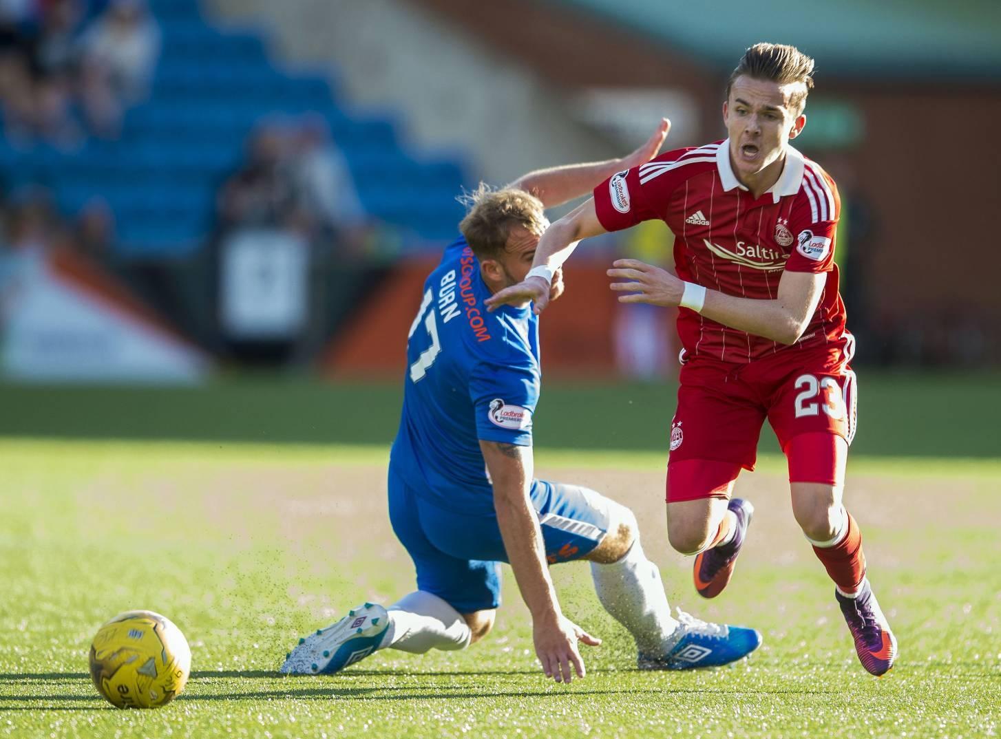 Aberdeen's James Maddison.
