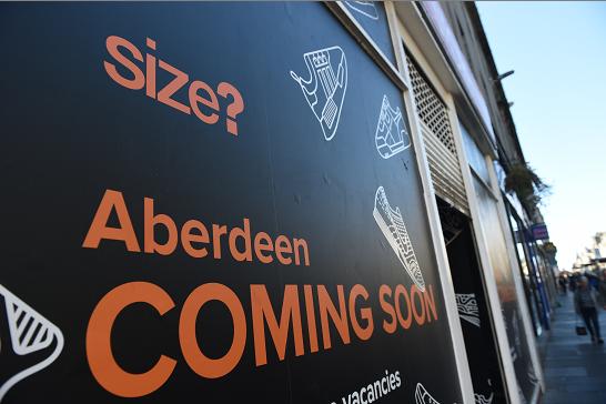 Shoe store Size? to open in Aberdeen.