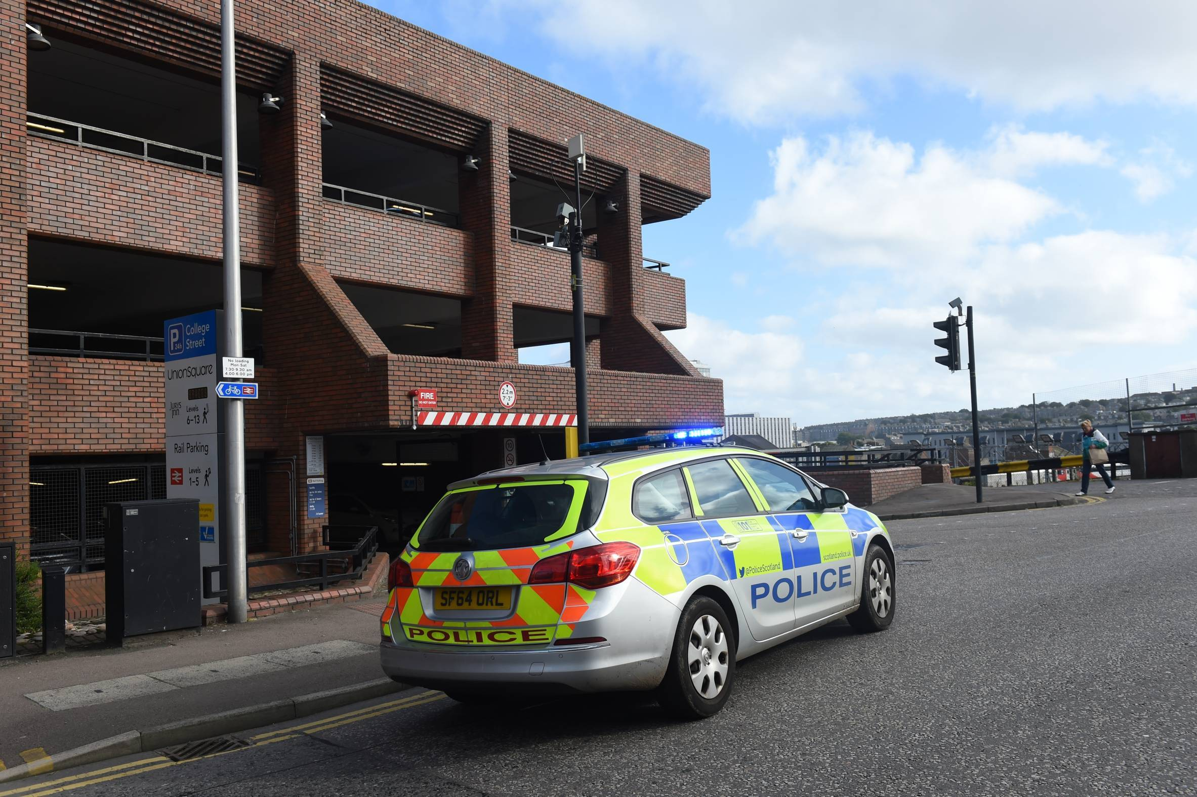 Police were called to South College Street.
