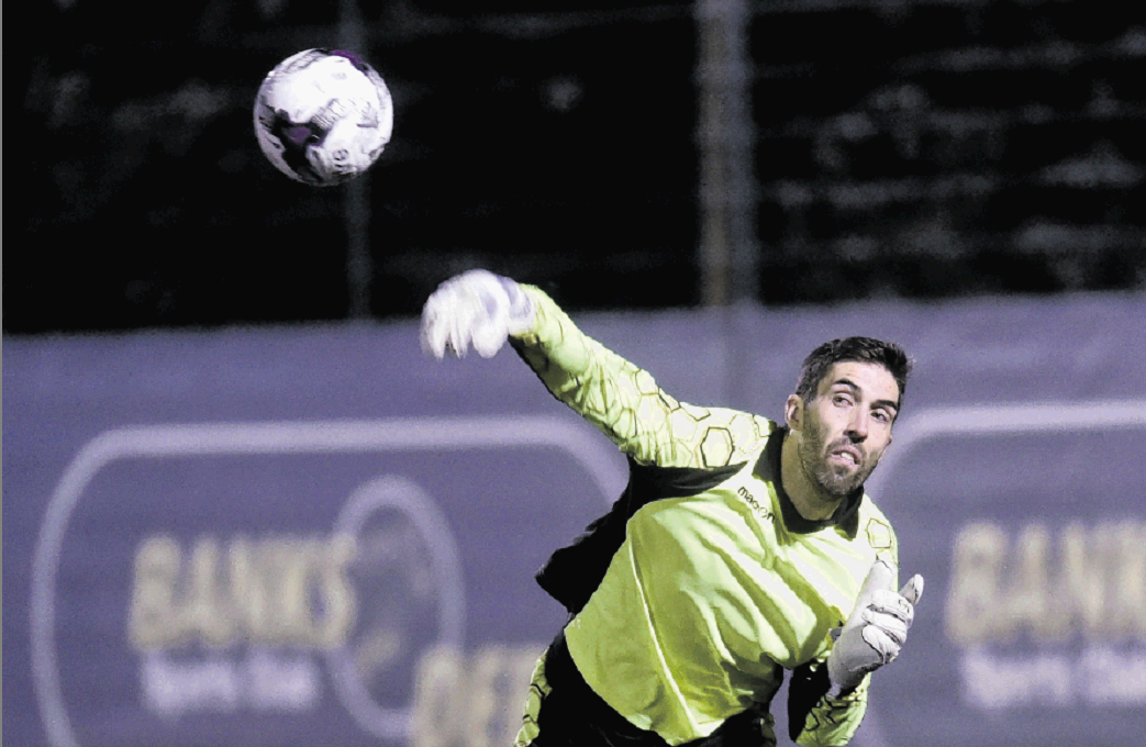 Banks o' Dee keeper Andy Shearer hopes to throw a spanner in the works for former club Formartine.