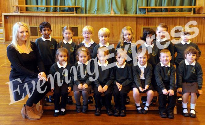 Fernielea Primary School with Mrs Muir.