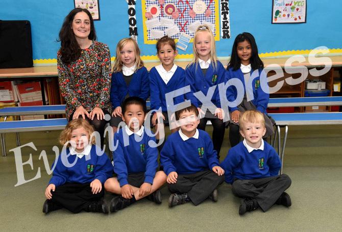 Ferryhill School with Miss Burnett