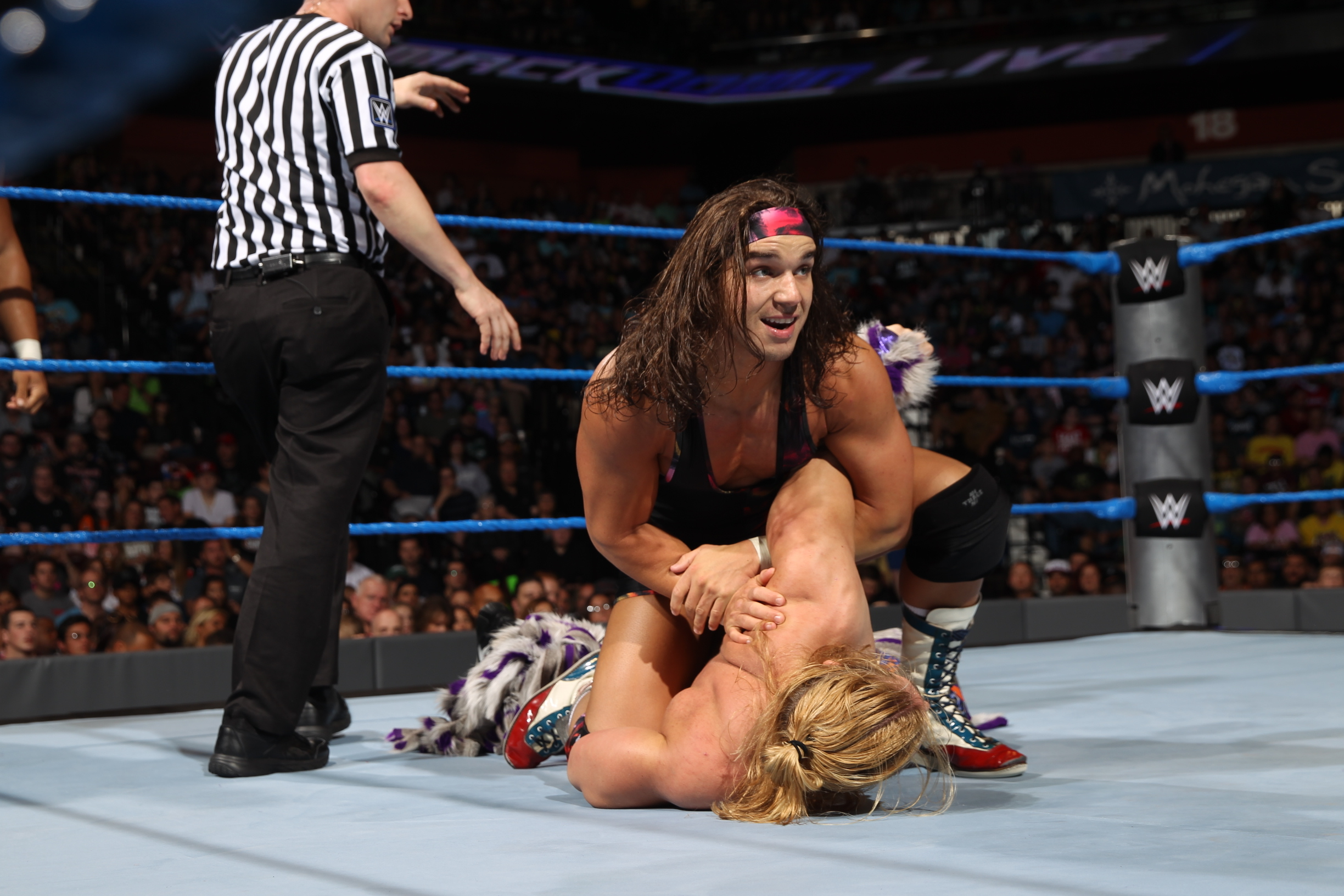 Chad Gable can't wait to entertain the Aberdeen wrestling fans.