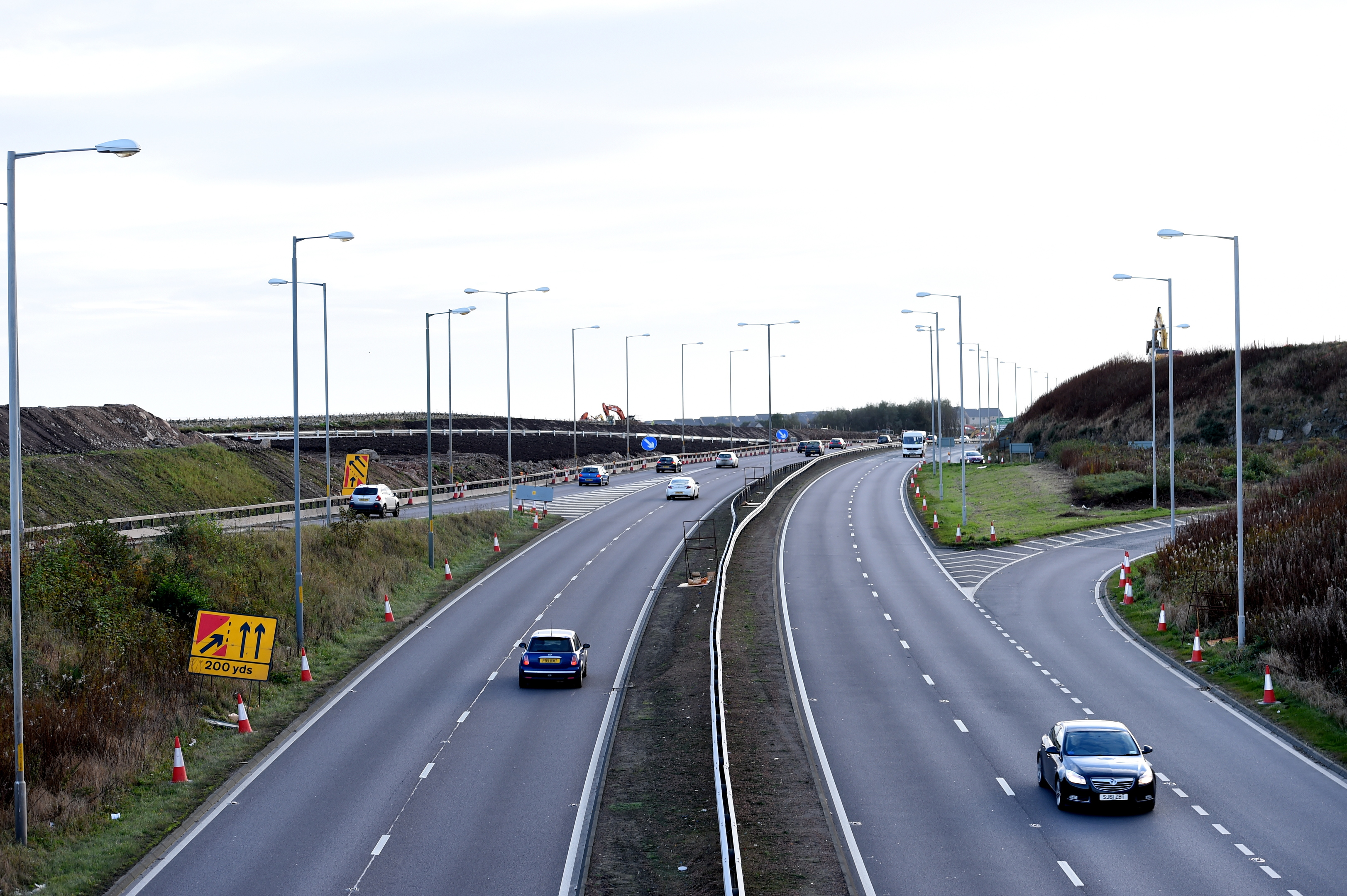 The A90 at Charleston will close overnight for three nights.