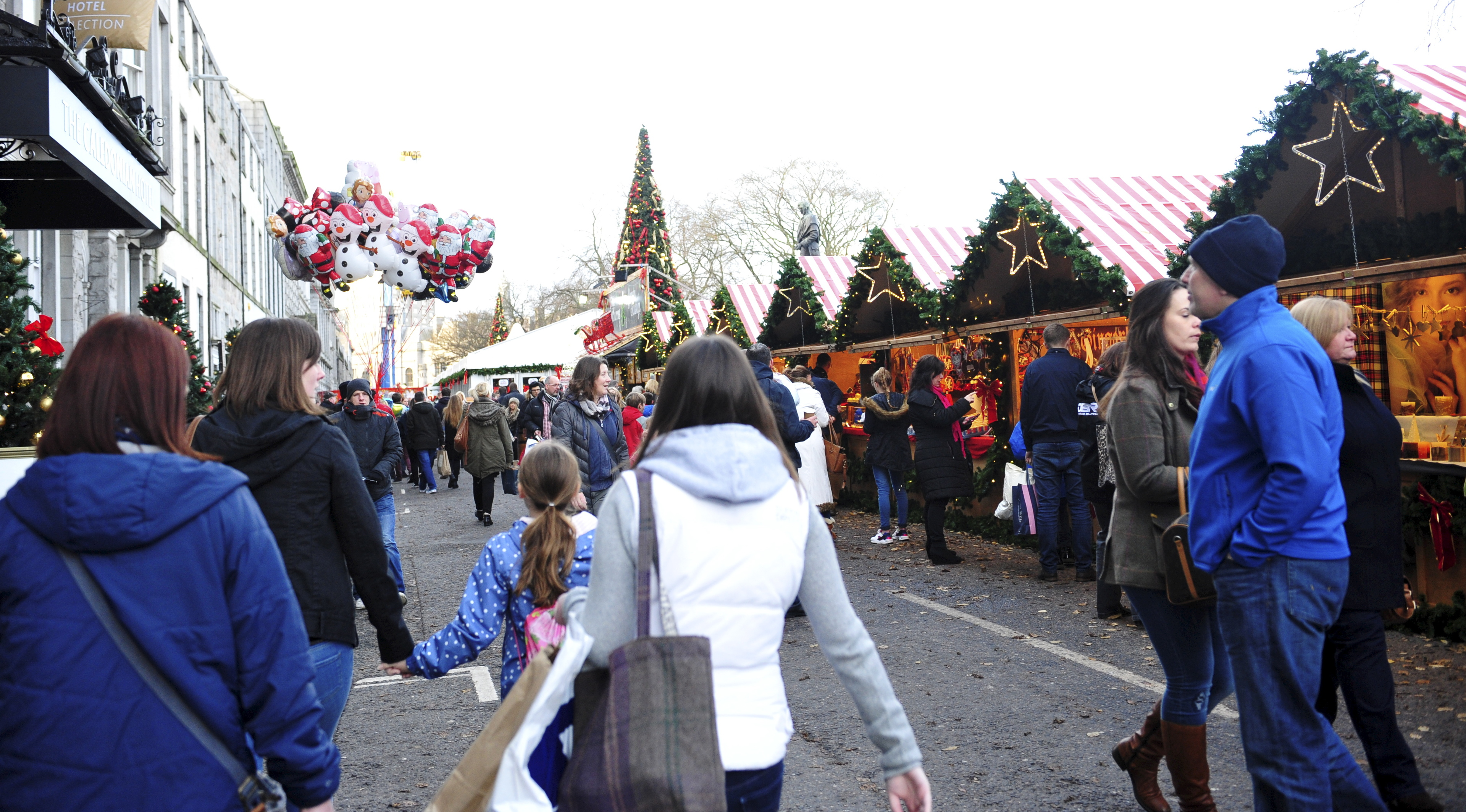 Union Terrace has hosted Aberdeen's Christmas Village previously.