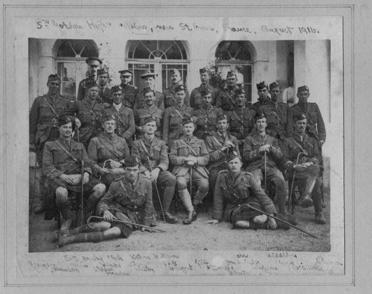 The 5th battalion