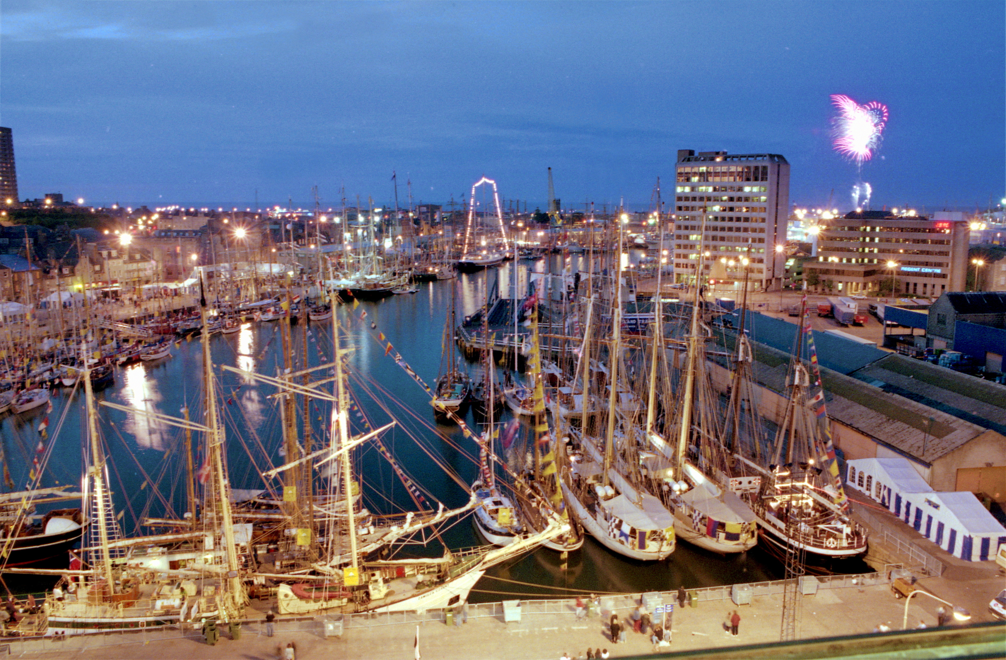 Tall Ships docked in Aberdeen in 1997 bringing with them a £13m boost.
