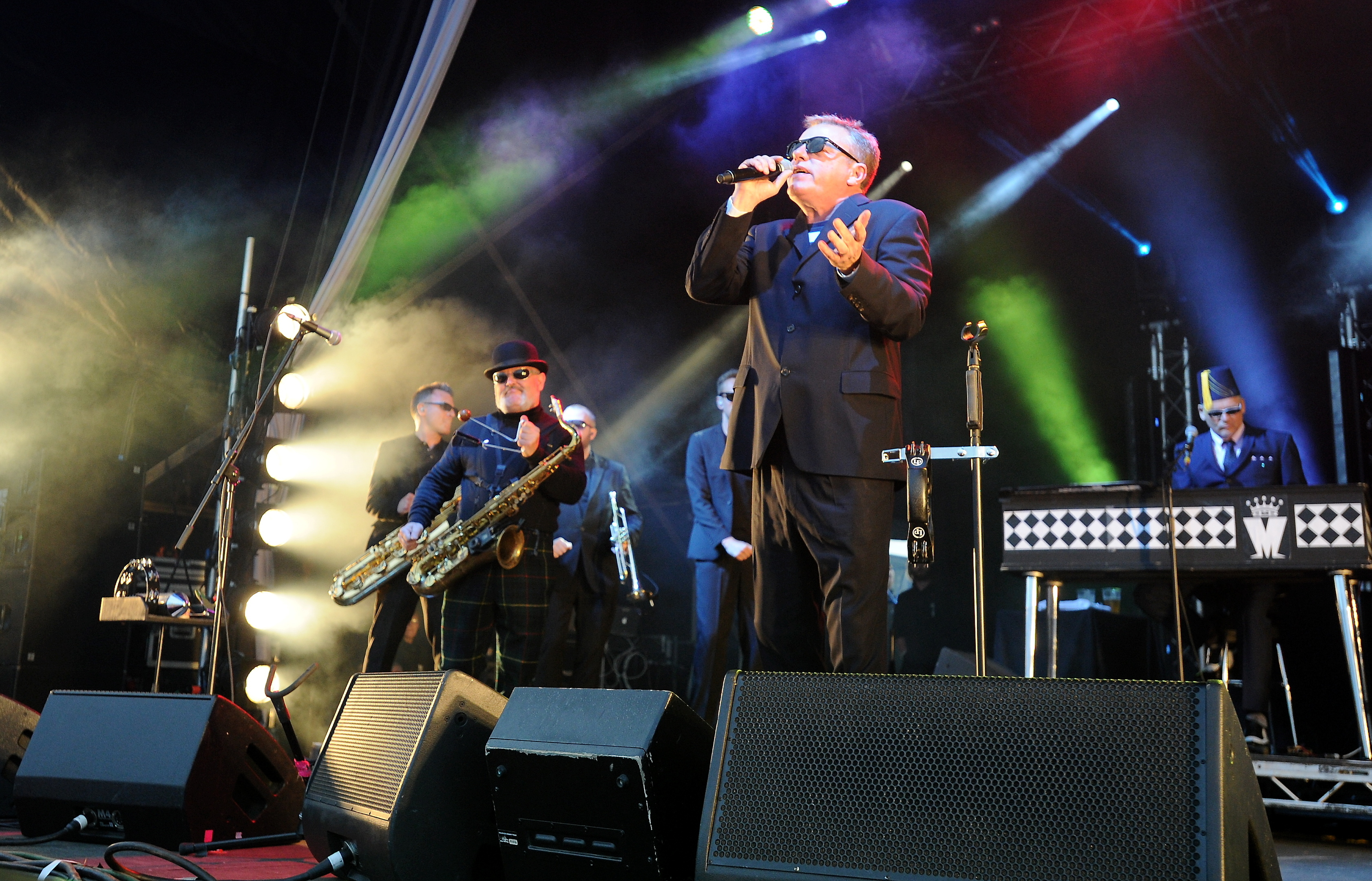 Madness have headlined the popular summer shindig.