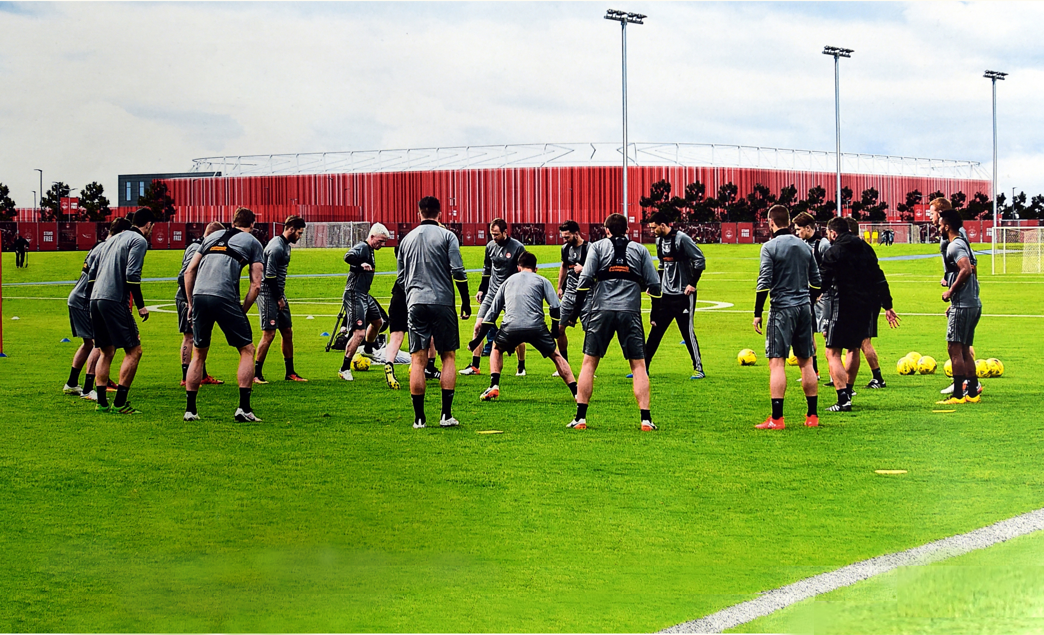The Dons hope to have their training ground  up and running by 2018.