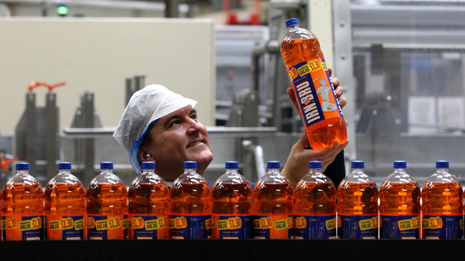 Irn-Bru is considered Scotland's 'other national drink'