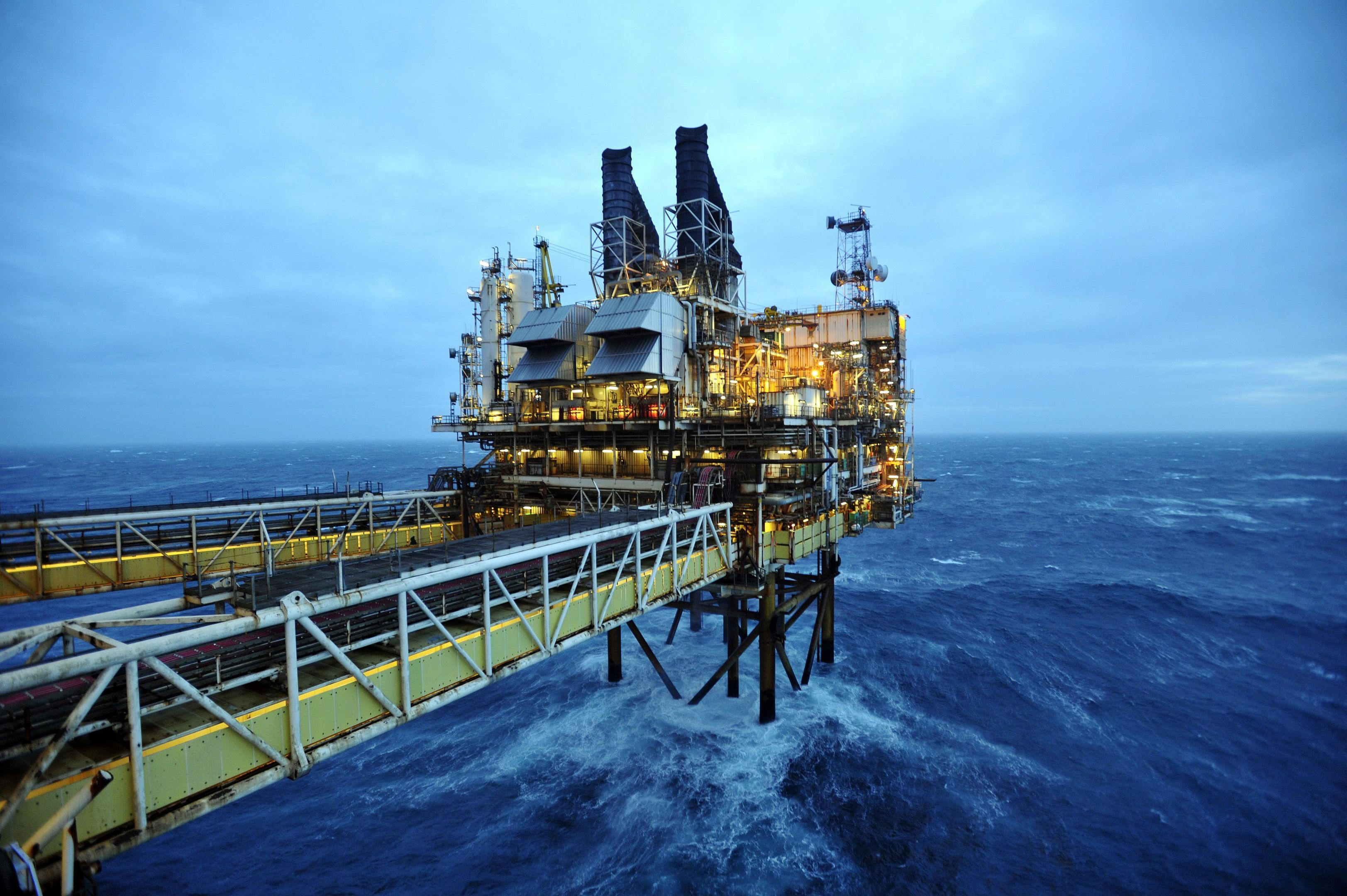 industry:  It is hoped production  cuts will lead to an increase in the oil price.