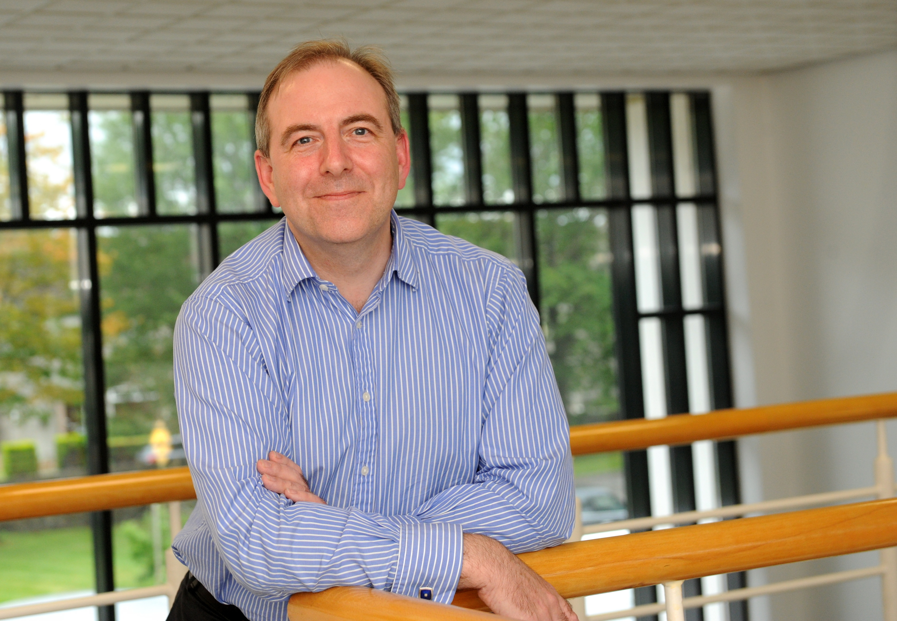 happy:  NHS Grampian medical director Dr Nick Fluck is pleased with the trend.