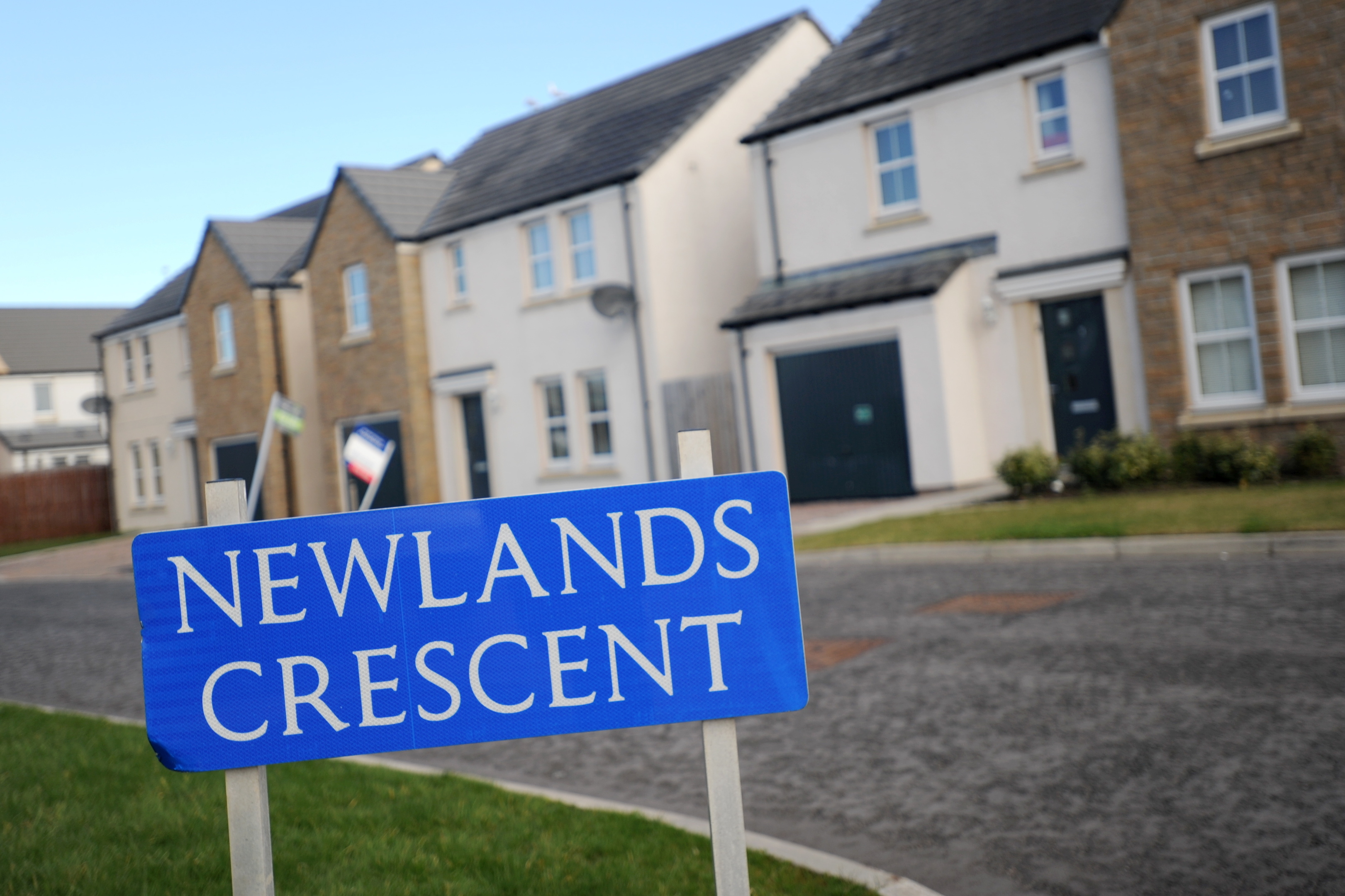 Hassle: Newlands Crescent is in both Cove and Broomhill, causing postal problems.