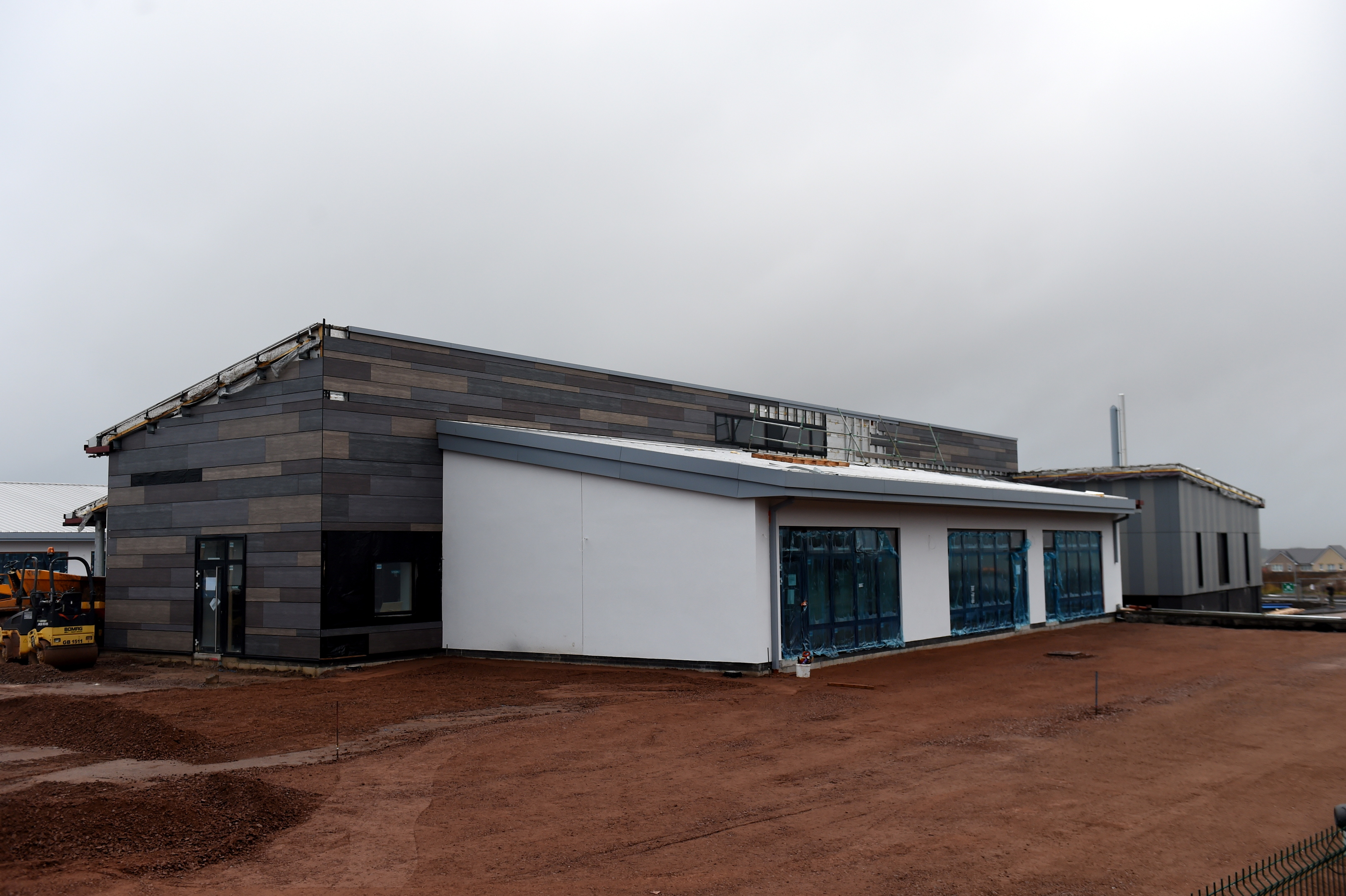 Building:  Hillside School will open in March – seven months after its expected completion date.