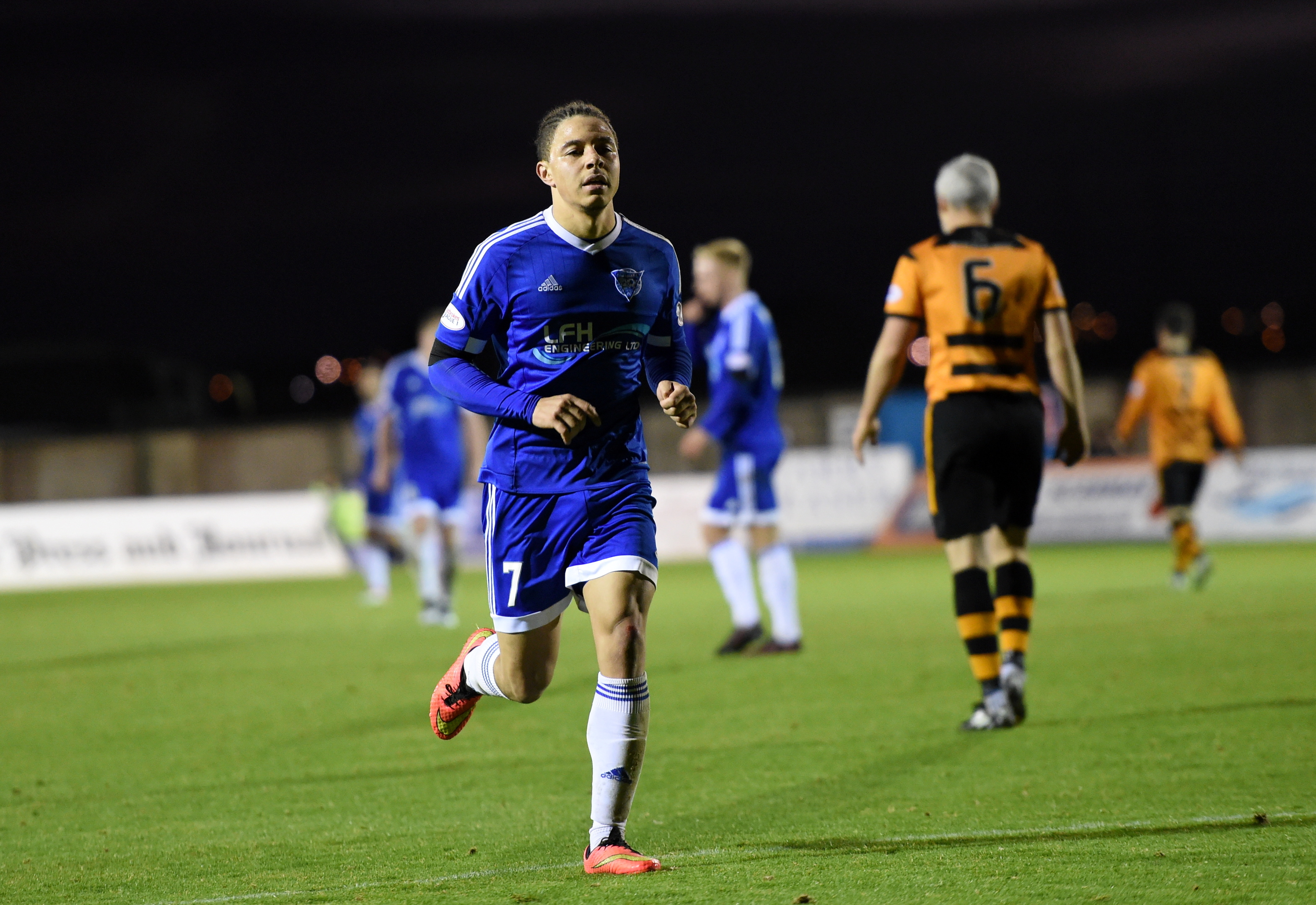 The door has opened again for Peterhead's Leighton McIntosh.