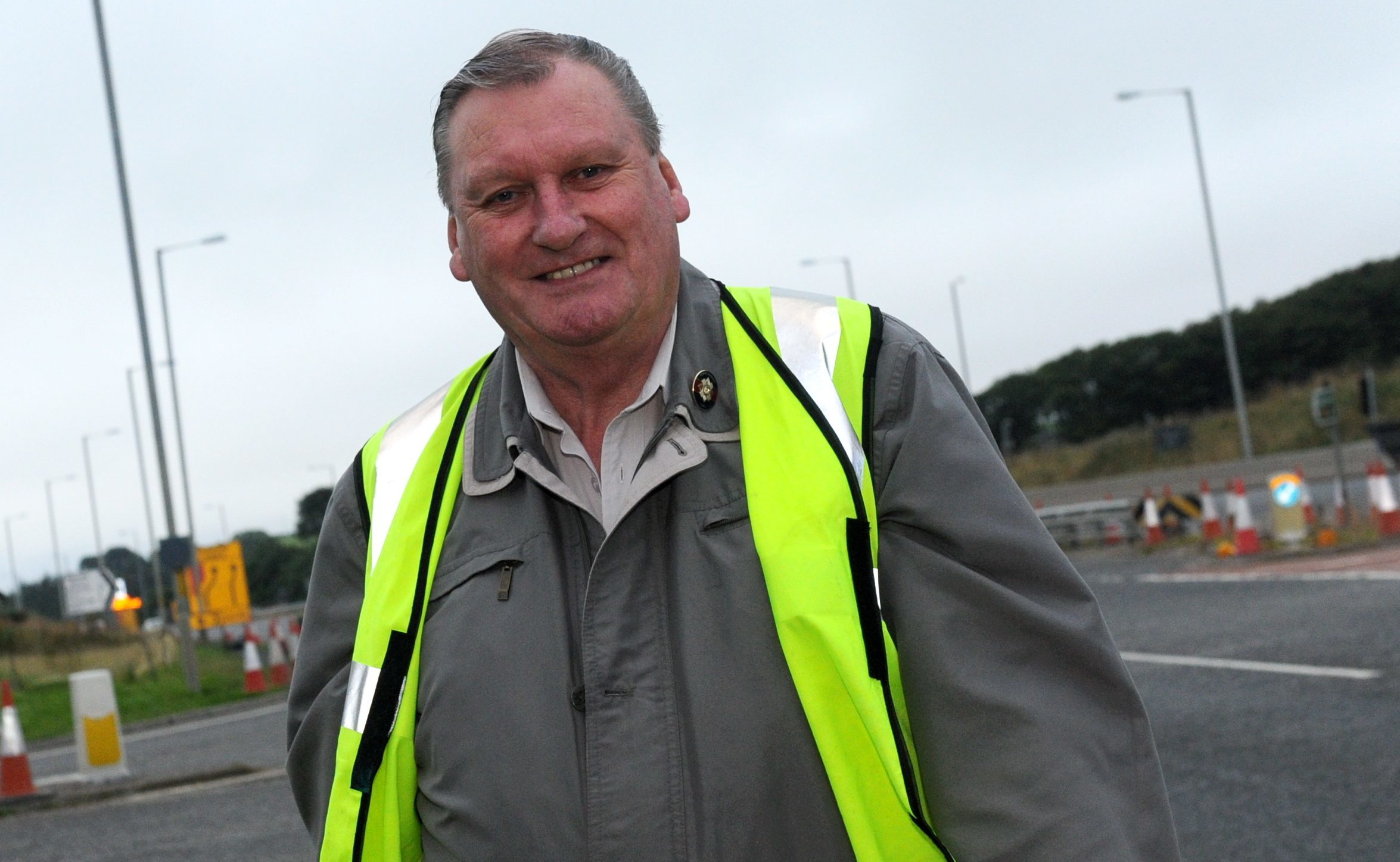 Councillor Allan Hendry wants to see poor parkers punished.