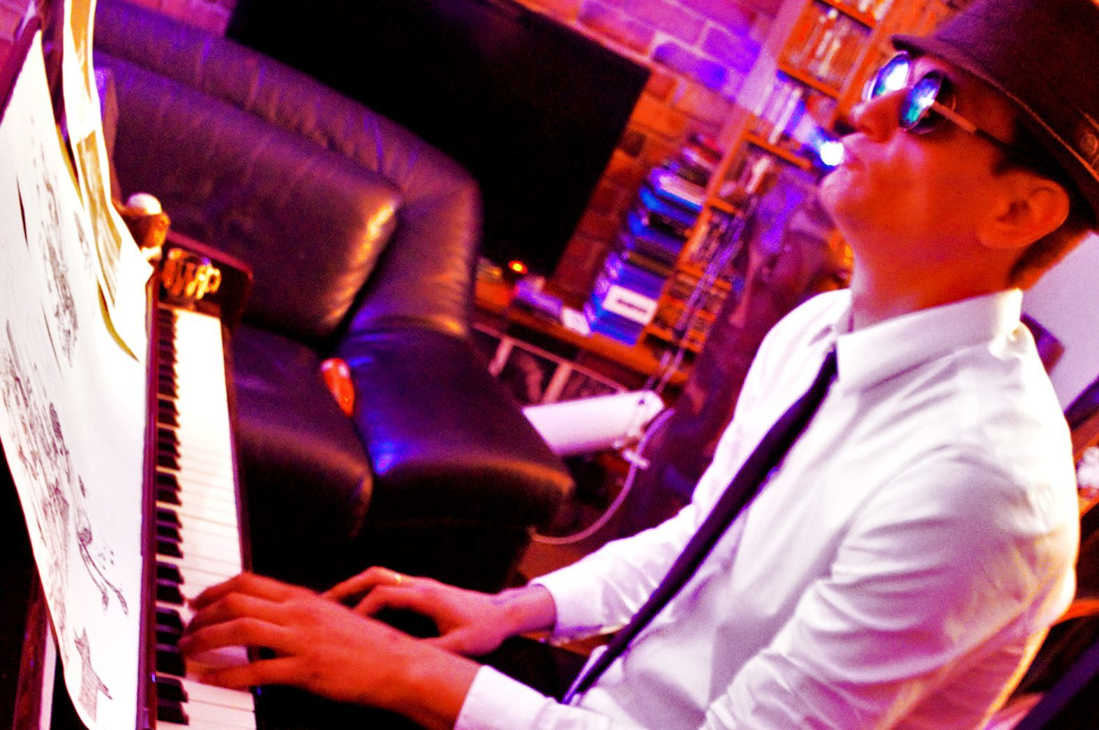 Callum feared he would never play piano again.  picture by k.i.s. photography