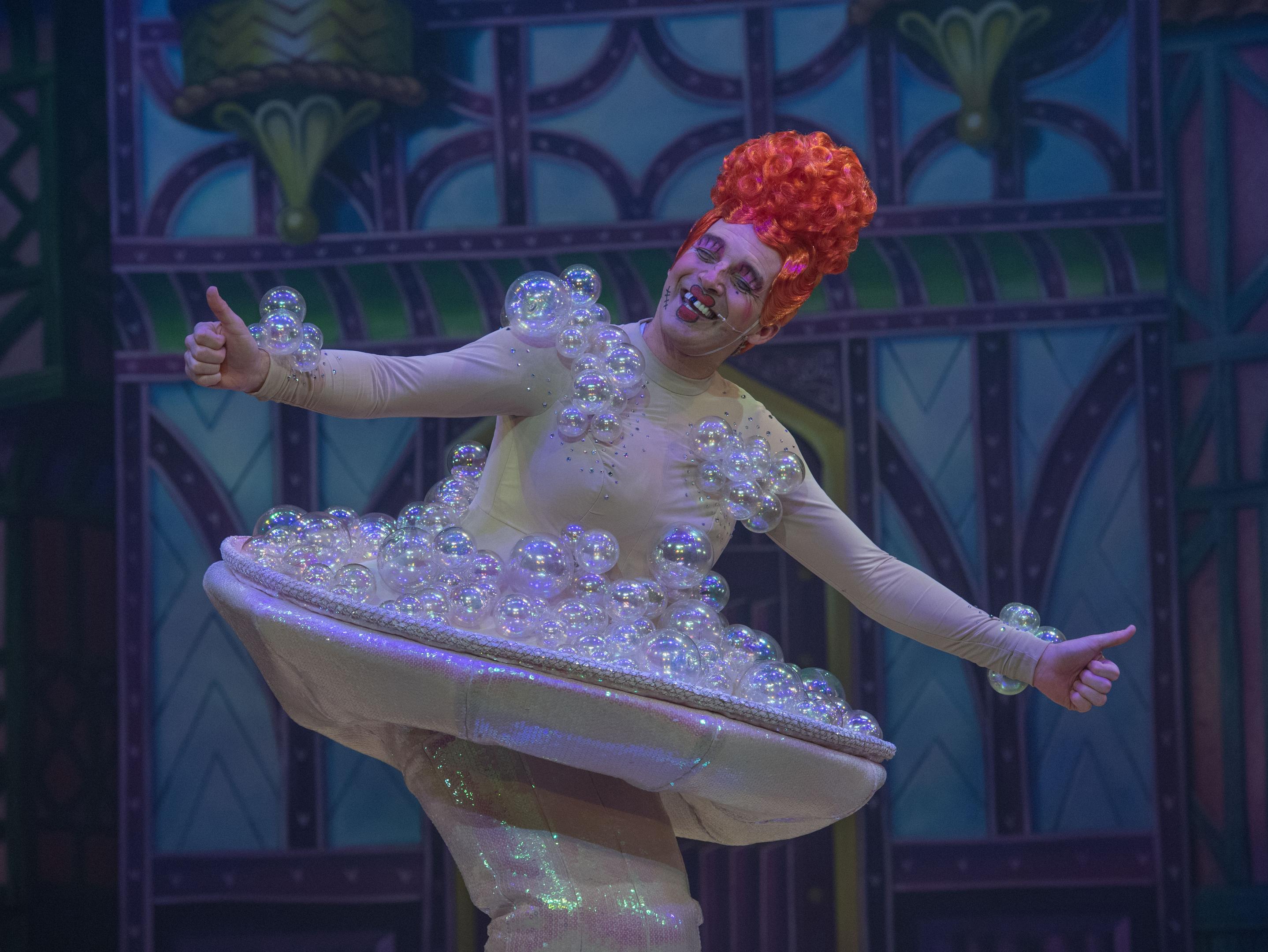 magic: Elaine C Smith shone as Fairy Fitlike.