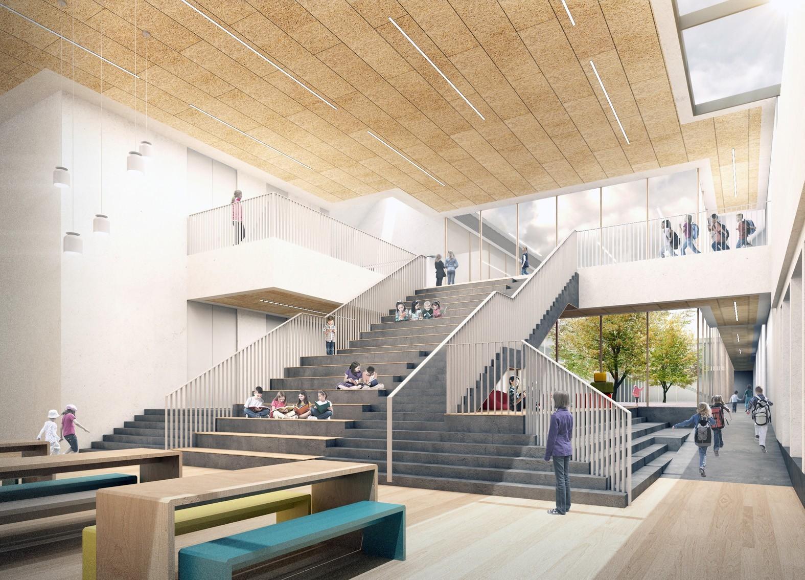 How the new Linkwood School in Elgin will look.