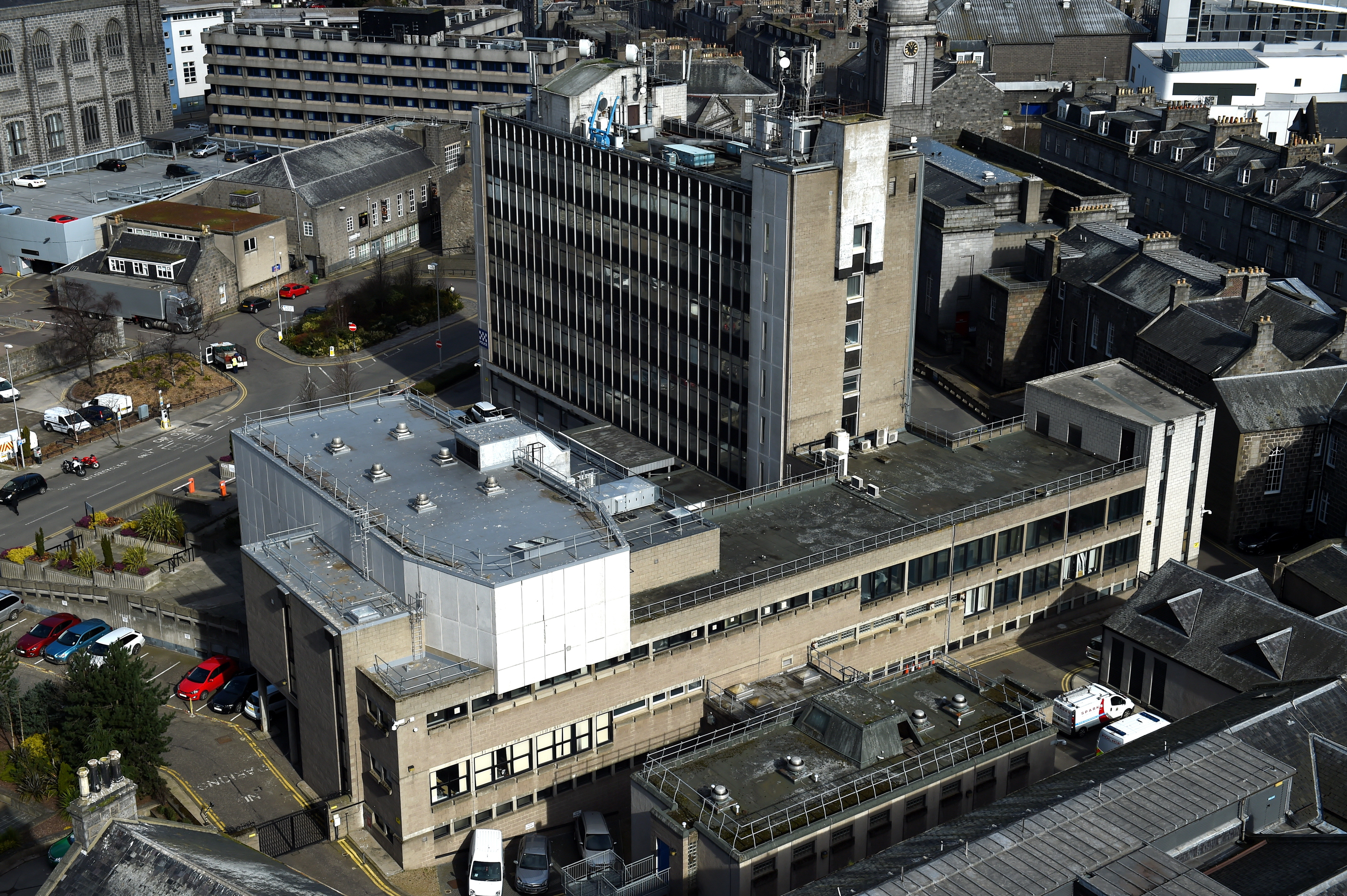 HQ: Police Scotland's current offices.