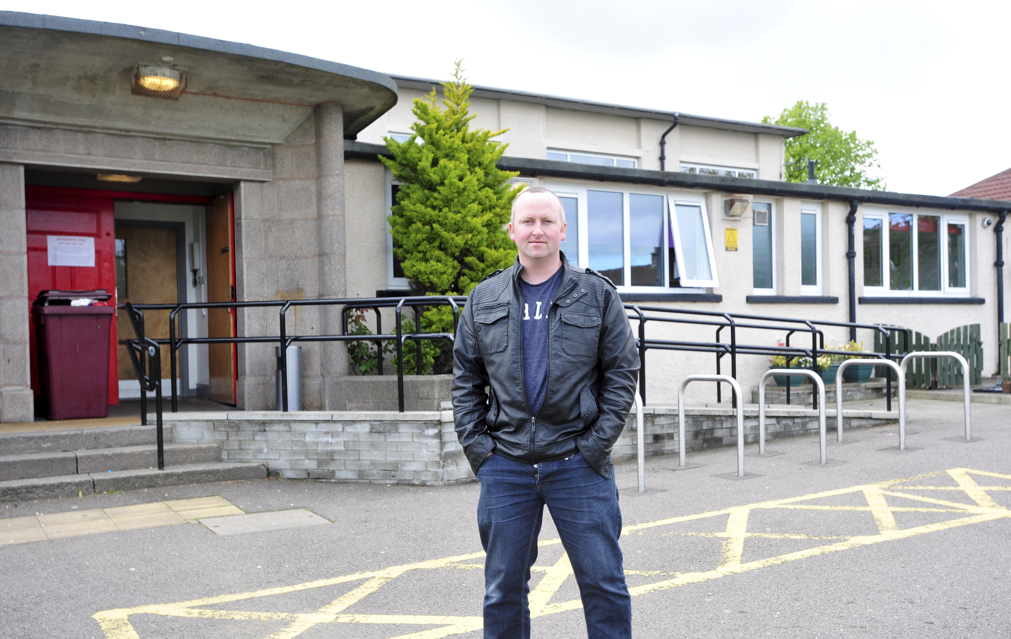 Paul O'Connor is frustrated with students using valuable parking spaces.