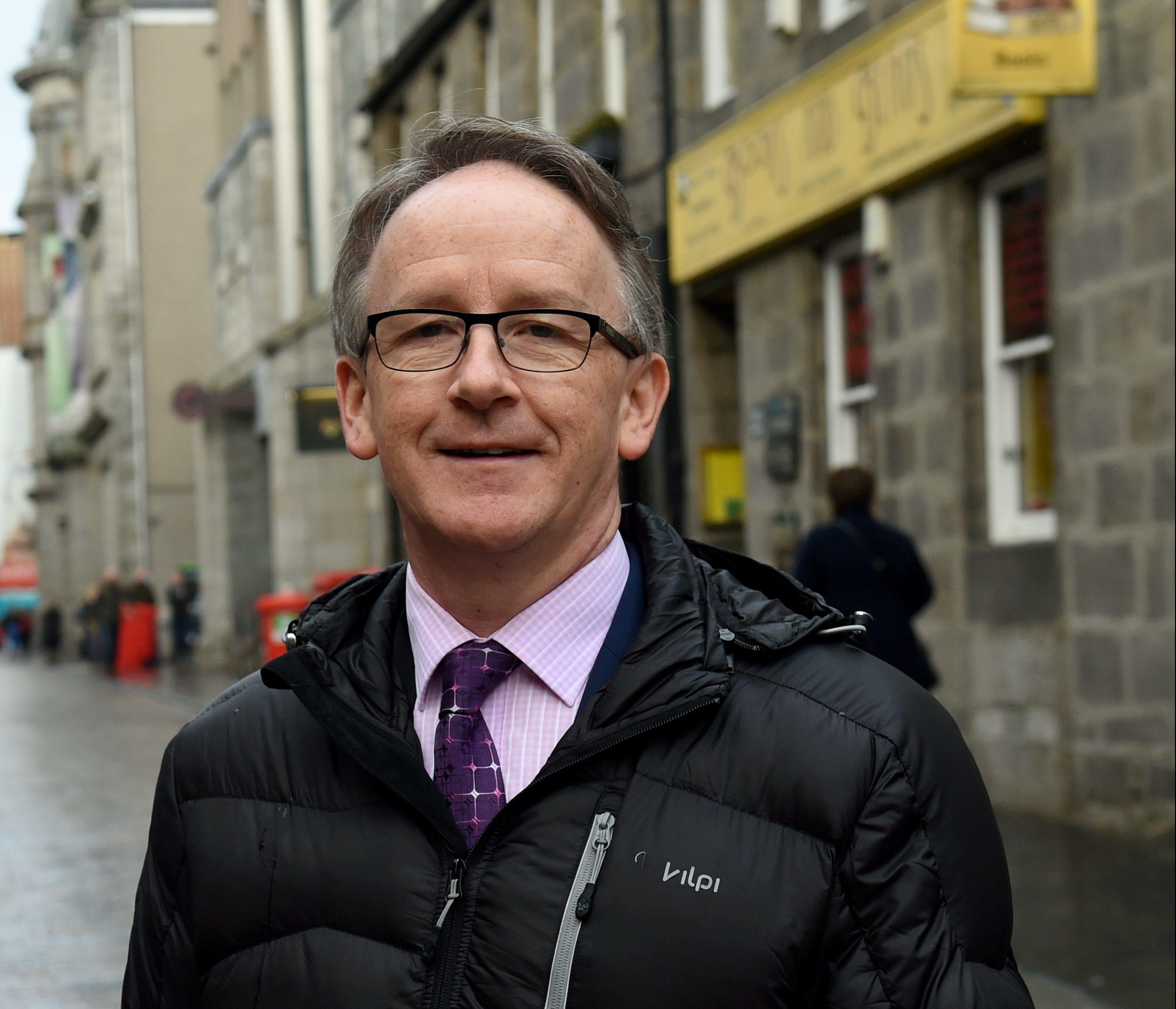 Transformation: Aberdeen Inspired city centre manager Geoff Cooper.