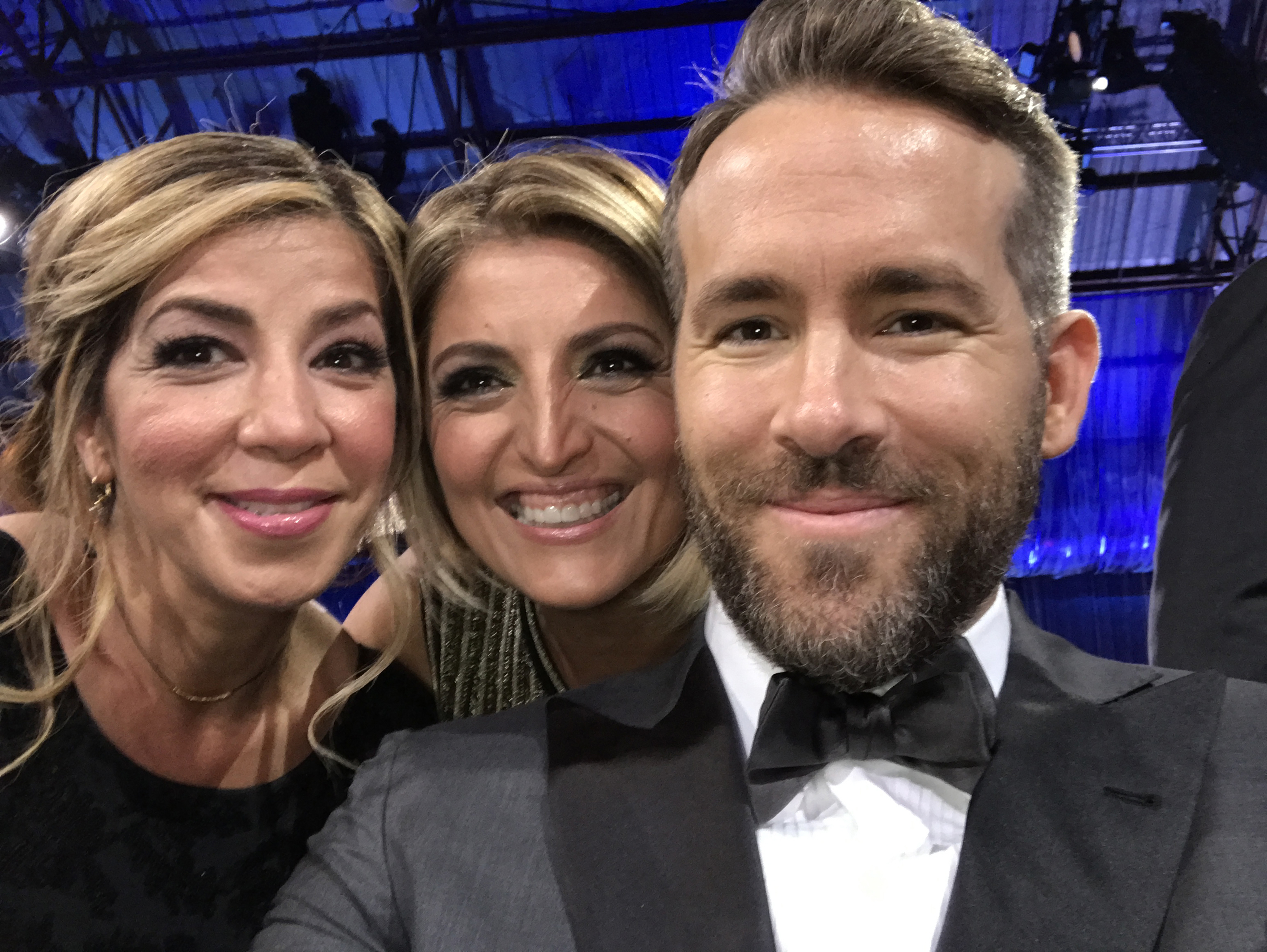 Farrah Zamani Tauvaa, Moji and Ryan Reynolds