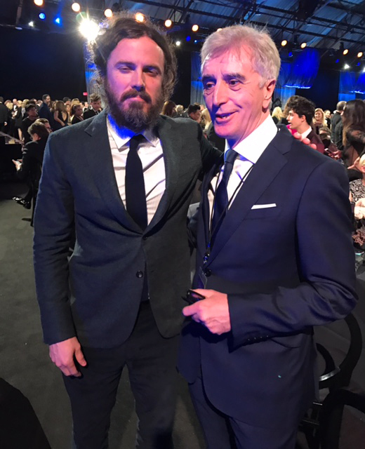 Tony Cochrane with Casey Affleck