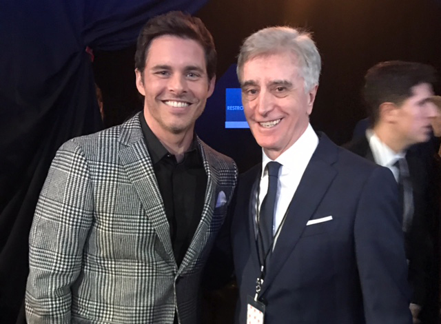 Tony with James Marsden