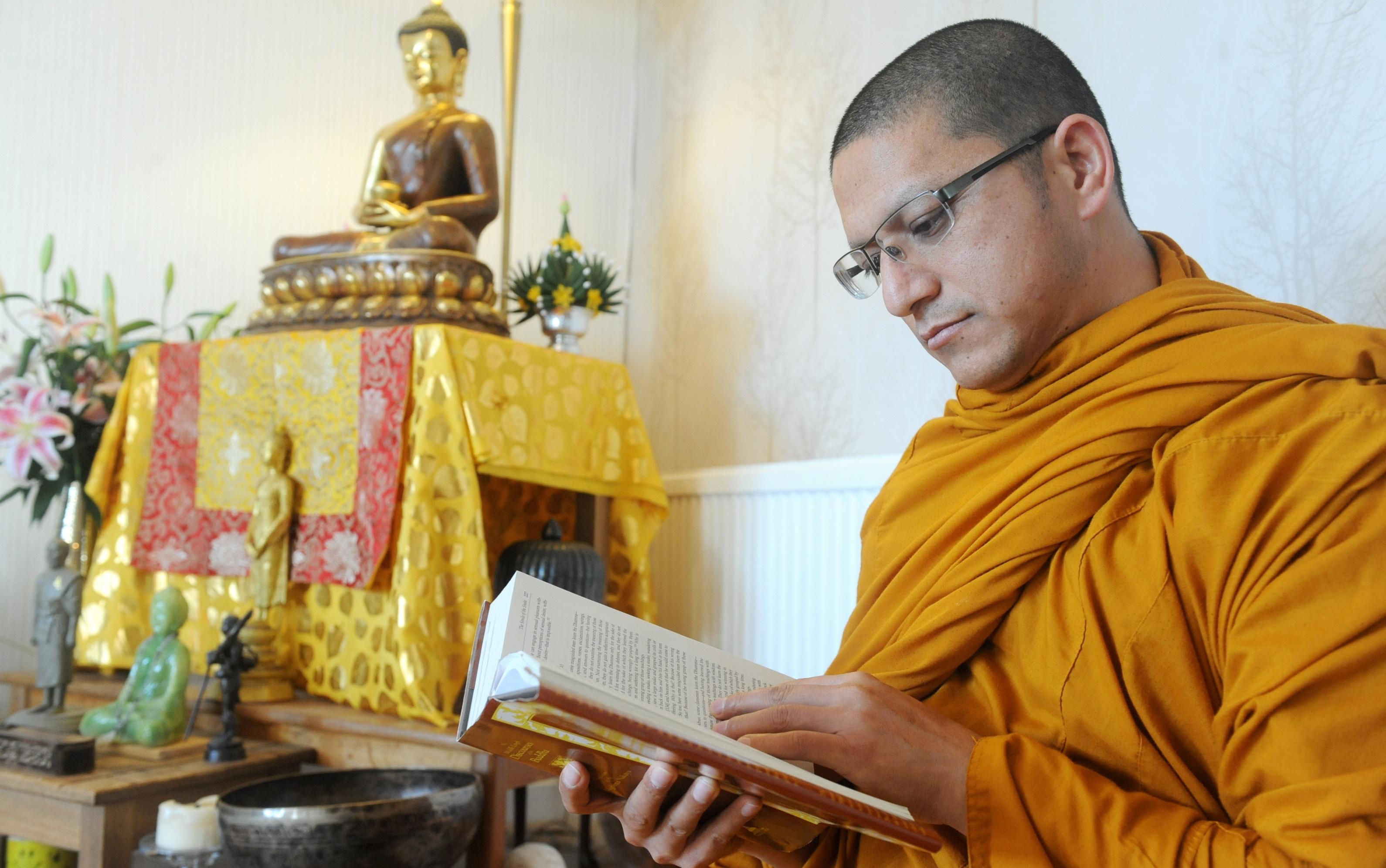 teachings: Venerable Sujan   in the monastery near Kingswells.