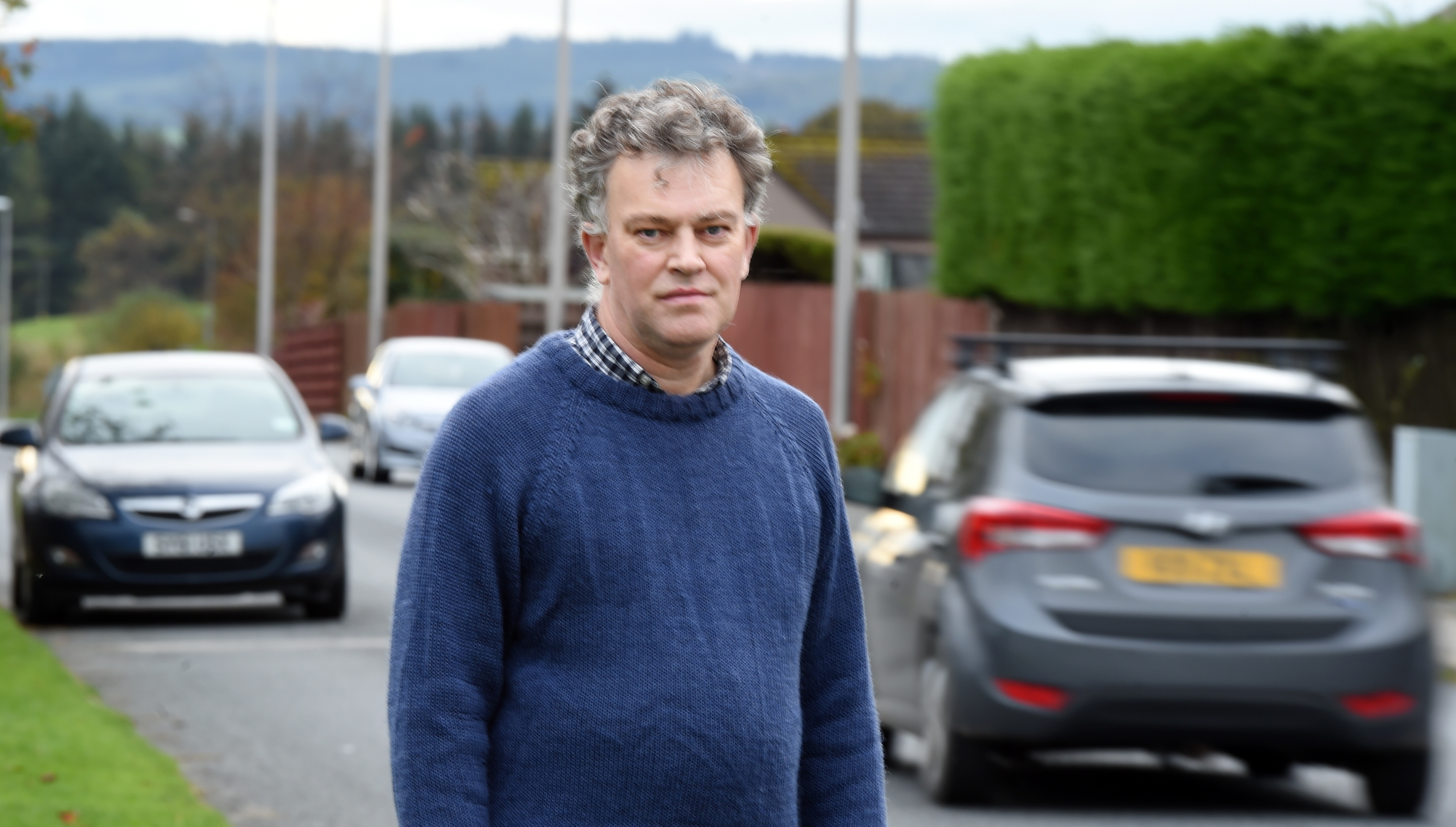 action:  Cllr Martin Ford has backed expanding trials of turning off street lights.