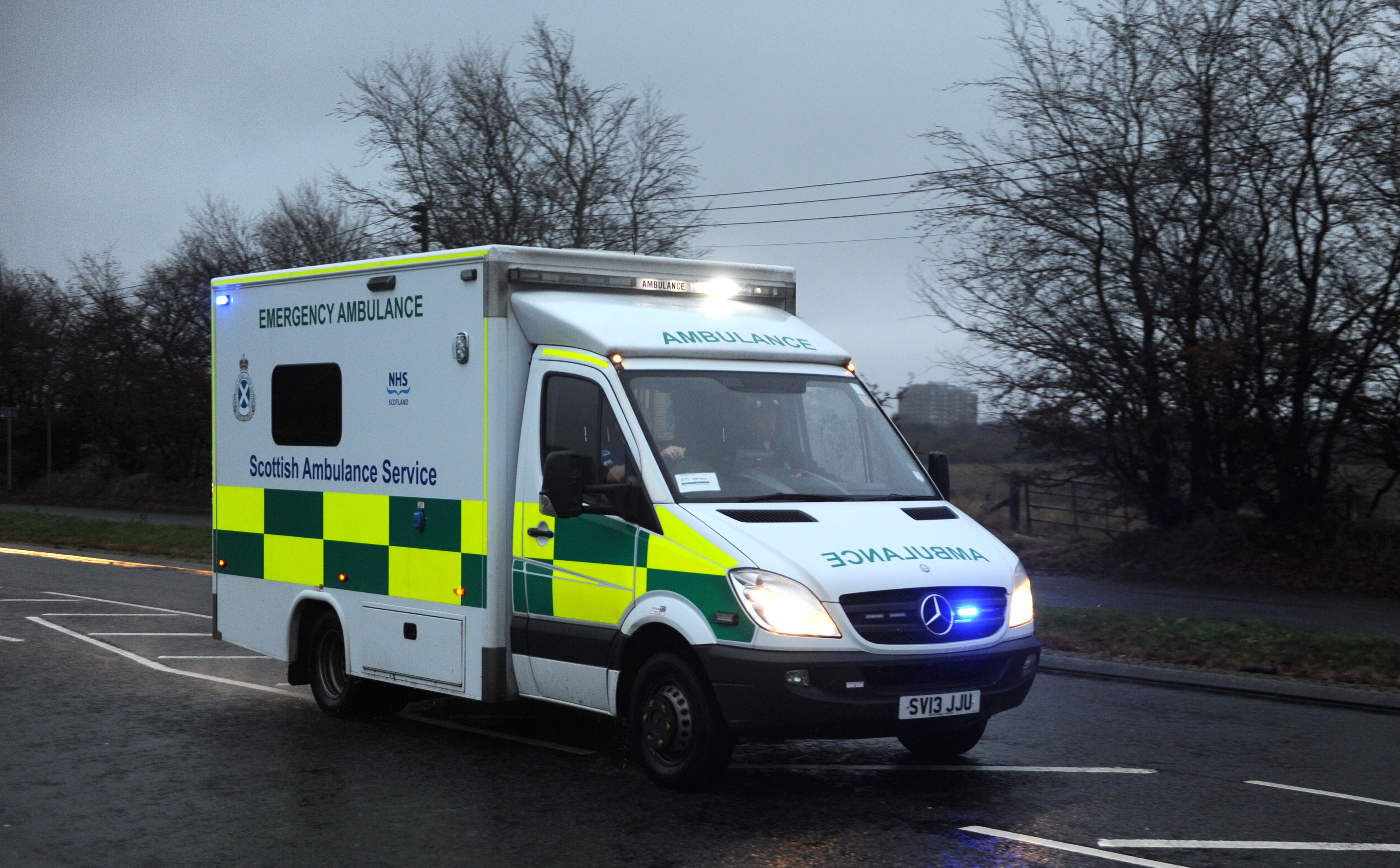 The Scottish Ambulance Service had received 43 hoax calls this year up to the end of September.
