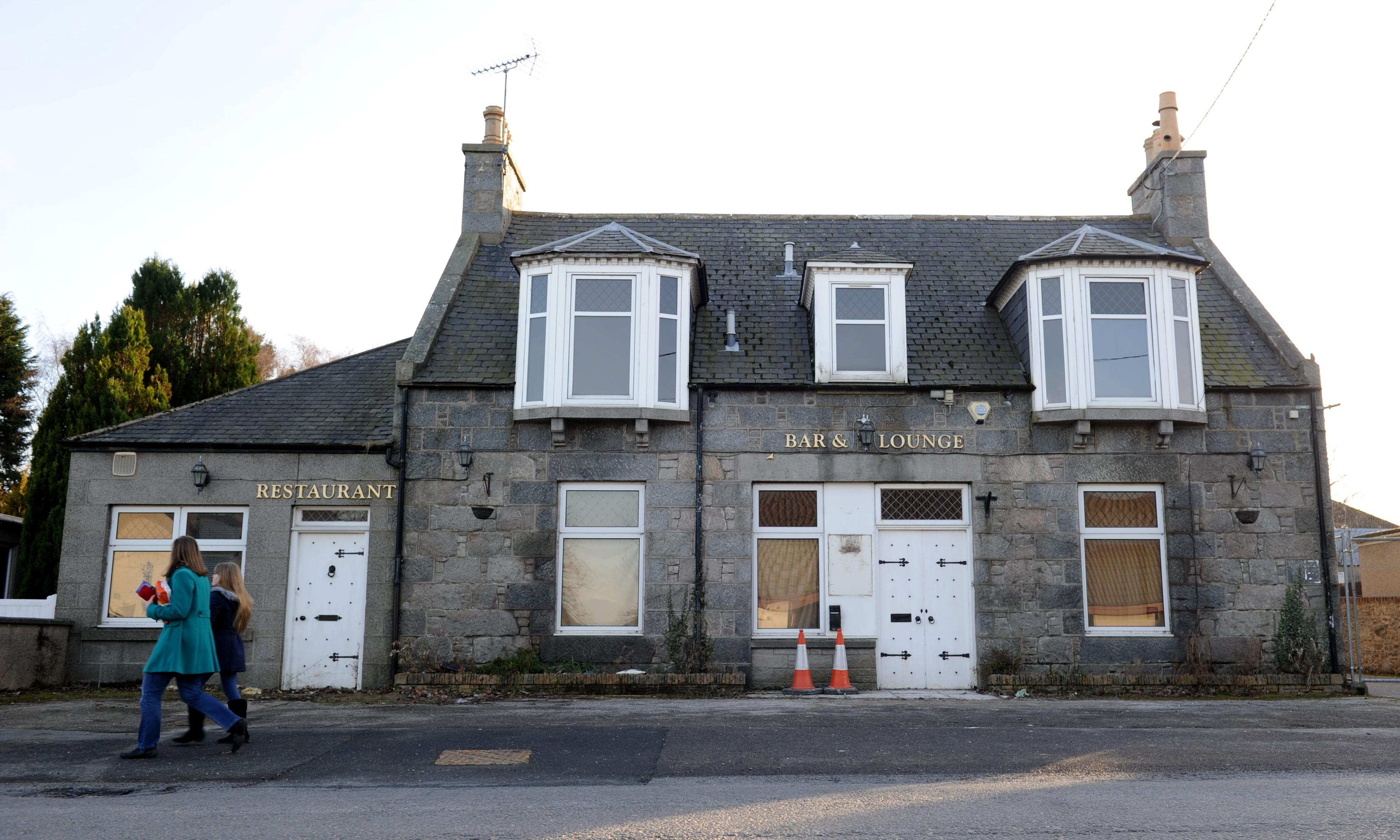 Vale Hotel in Main Street, Alford.
