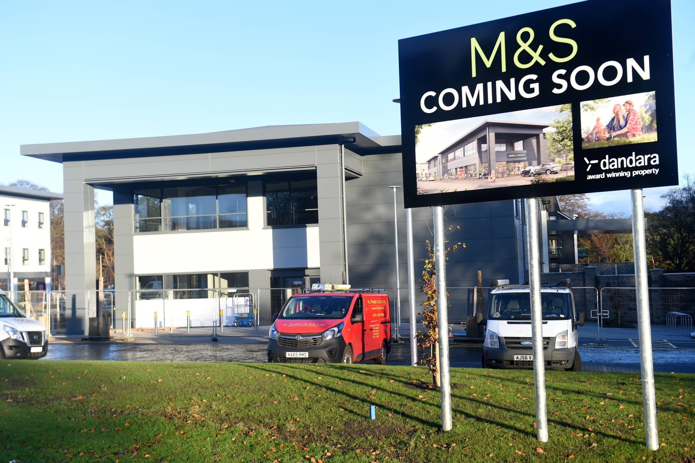 The new M&S at Stoneywood will open next week.